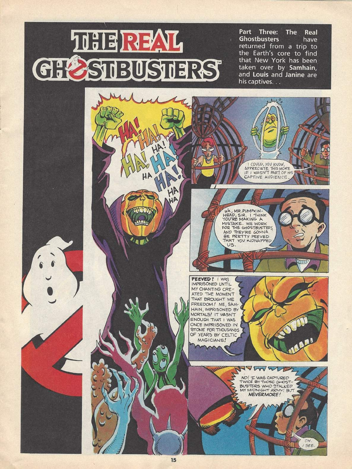 The Real Ghostbusters Issue #148 #131 - English 7