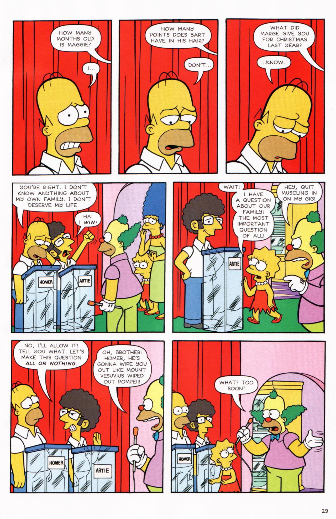 Read online Simpsons Comics comic -  Issue #130 - 24