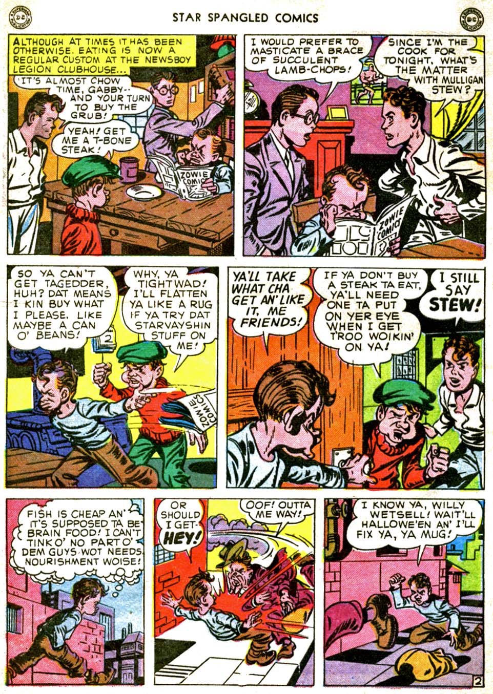 Star Spangled Comics (1941) issue 56 - Page 4