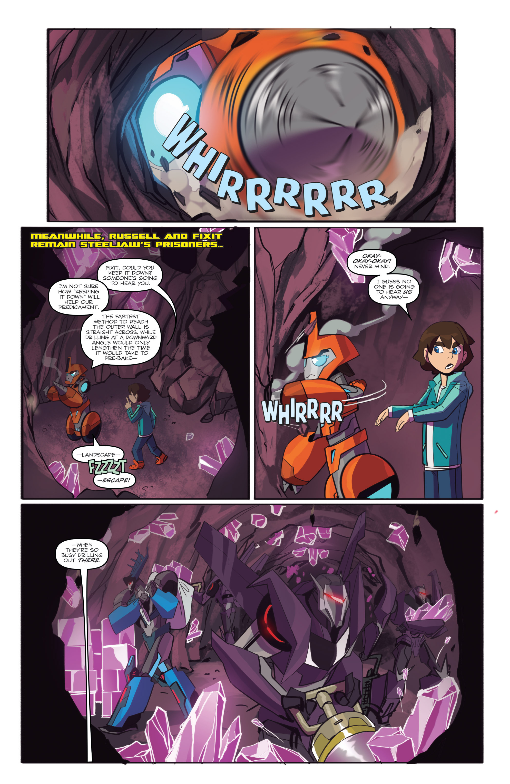 Read online Transformers: Robots In Disguise (2015) comic -  Issue #6 - 8