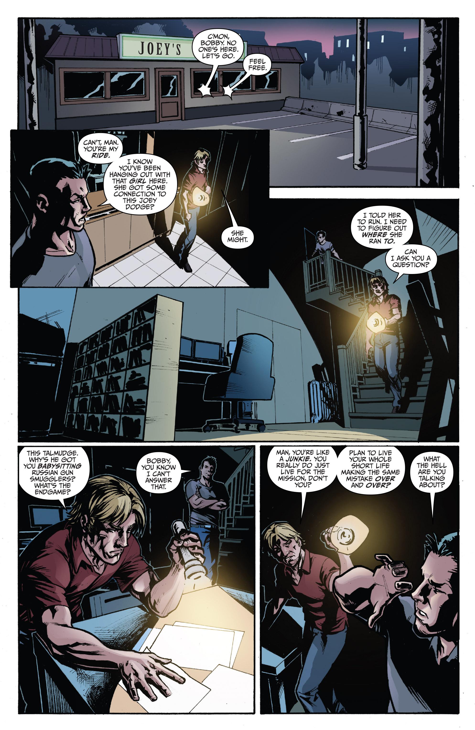 Read online 3 Guns comic -  Issue #3 - 10