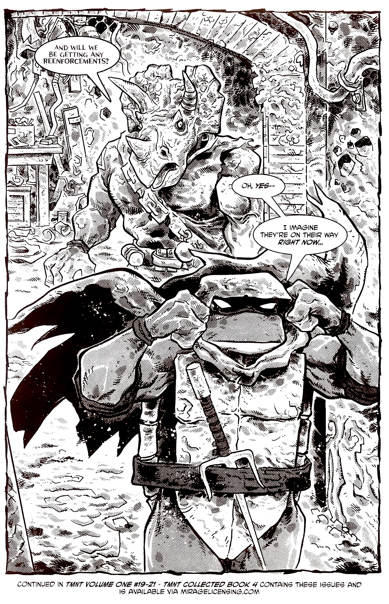 Read online Tales of the TMNT comic -  Issue #70 - 35