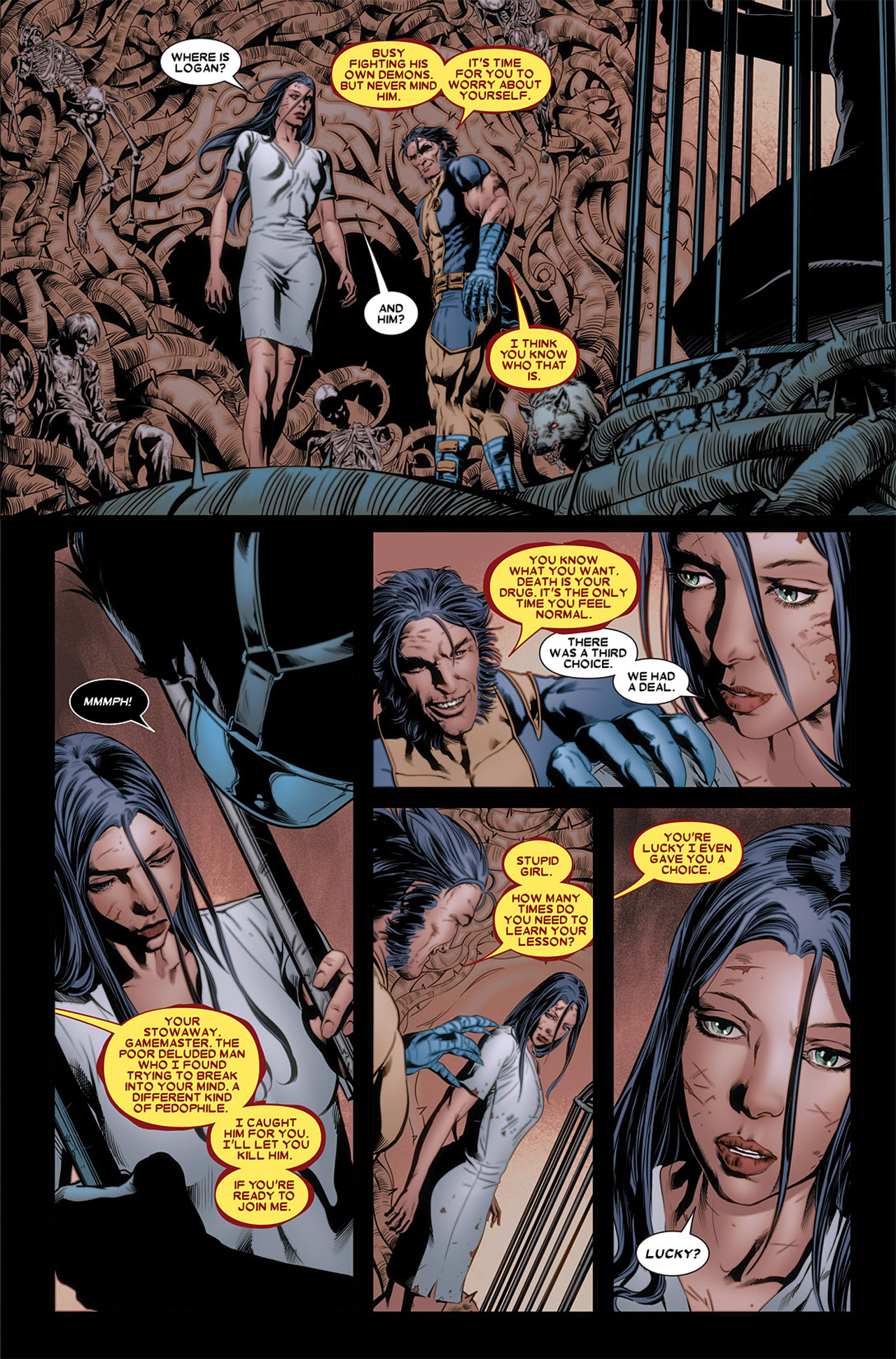 Read online X-23 (2010) comic -  Issue #3 - 17