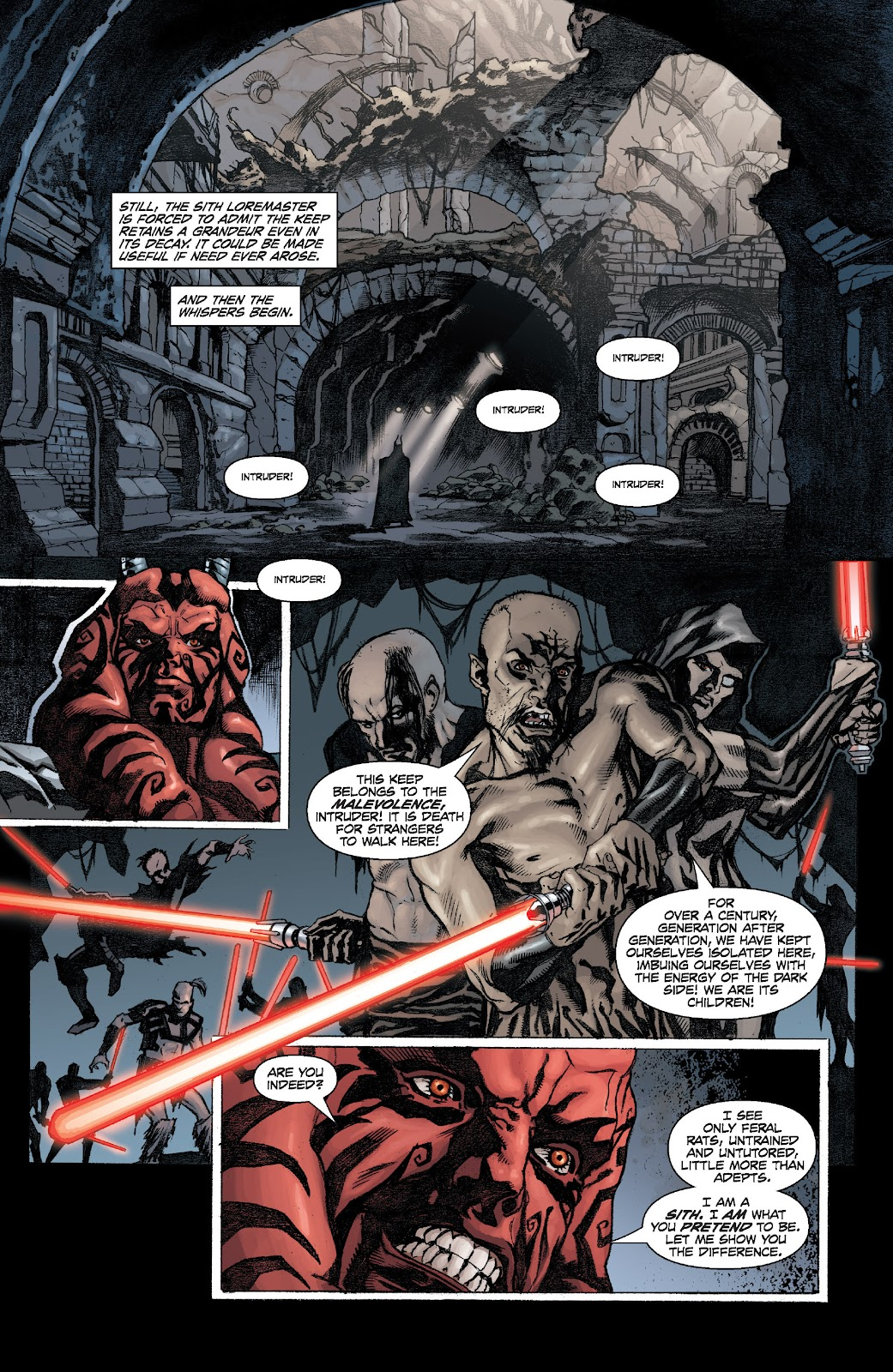 Read online Star Wars Legends: Legacy - Epic Collection comic -  Issue # TPB 2 (Part 1) - 61