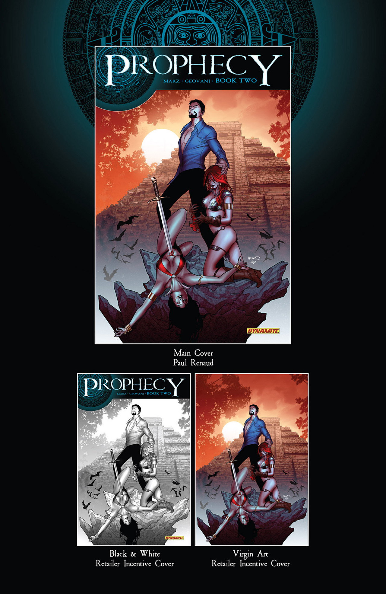 Read online Prophecy comic -  Issue #2 - 2