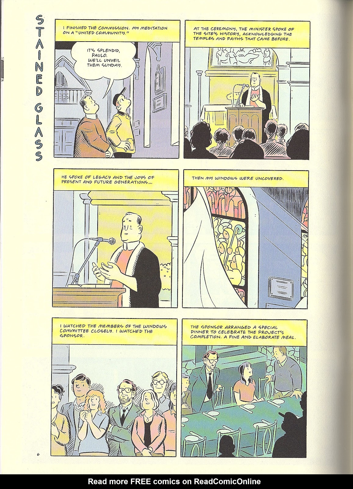 Read online Pope Hats comic -  Issue #4 - 8