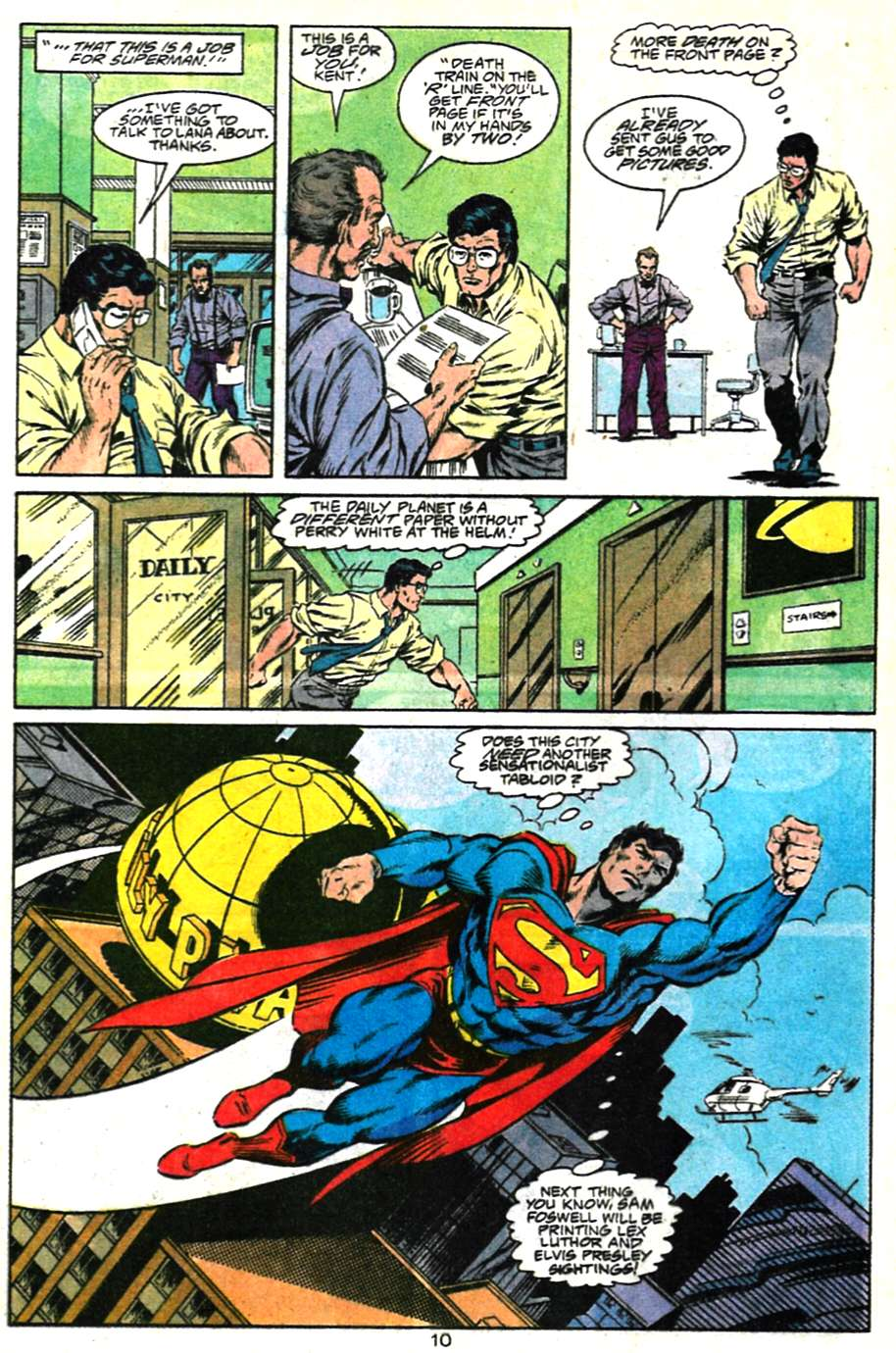 Read online Adventures of Superman (1987) comic -  Issue #481 - 11