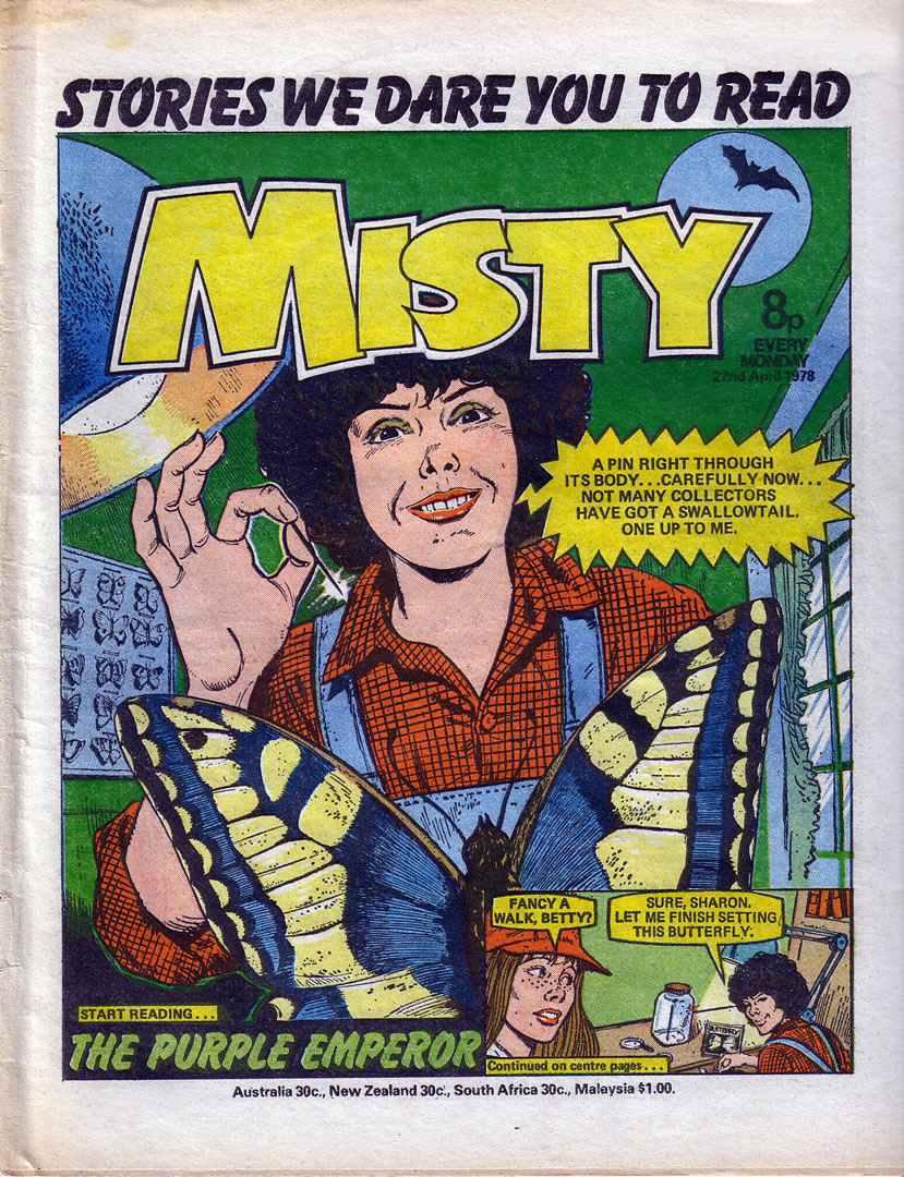 Misty (1978) 12 Page 1