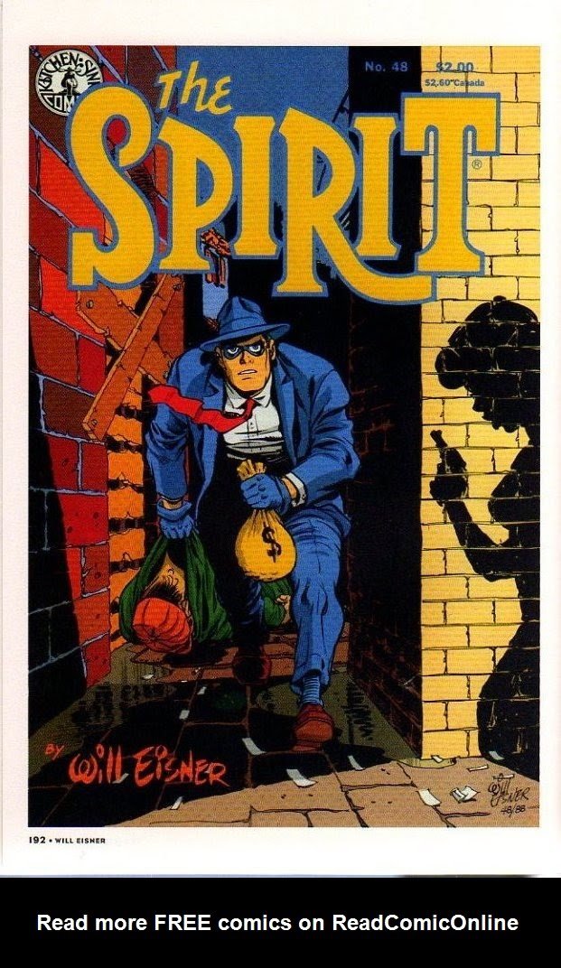 Read online Will Eisner's The Spirit Archives comic -  Issue # TPB 26 (Part 2) - 99