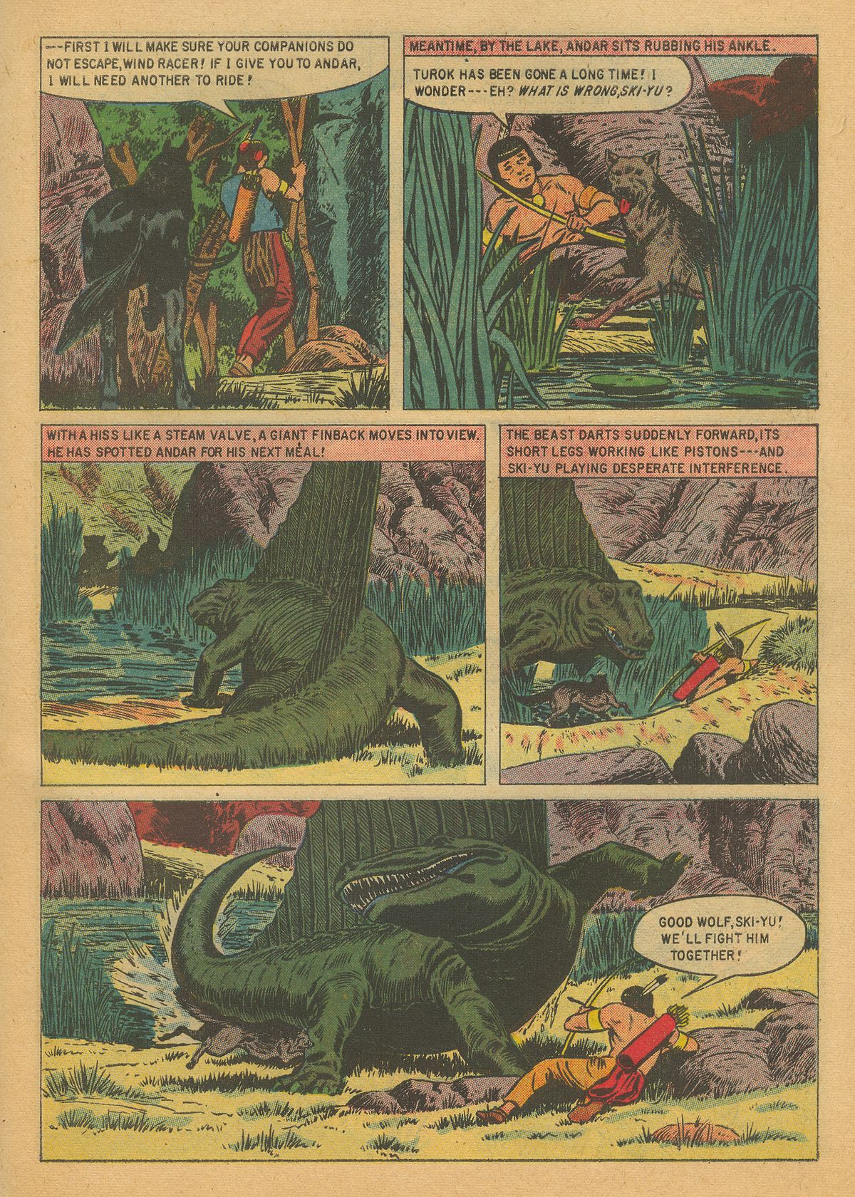 Read online Turok, Son of Stone comic -  Issue #8 - 27