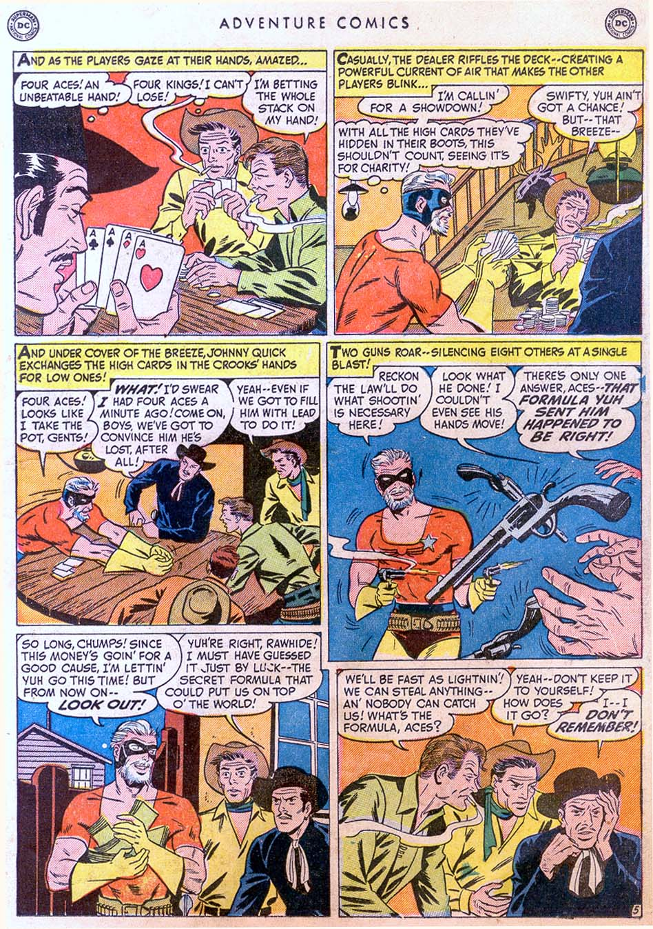 Read online Adventure Comics (1938) comic -  Issue #158 - 21