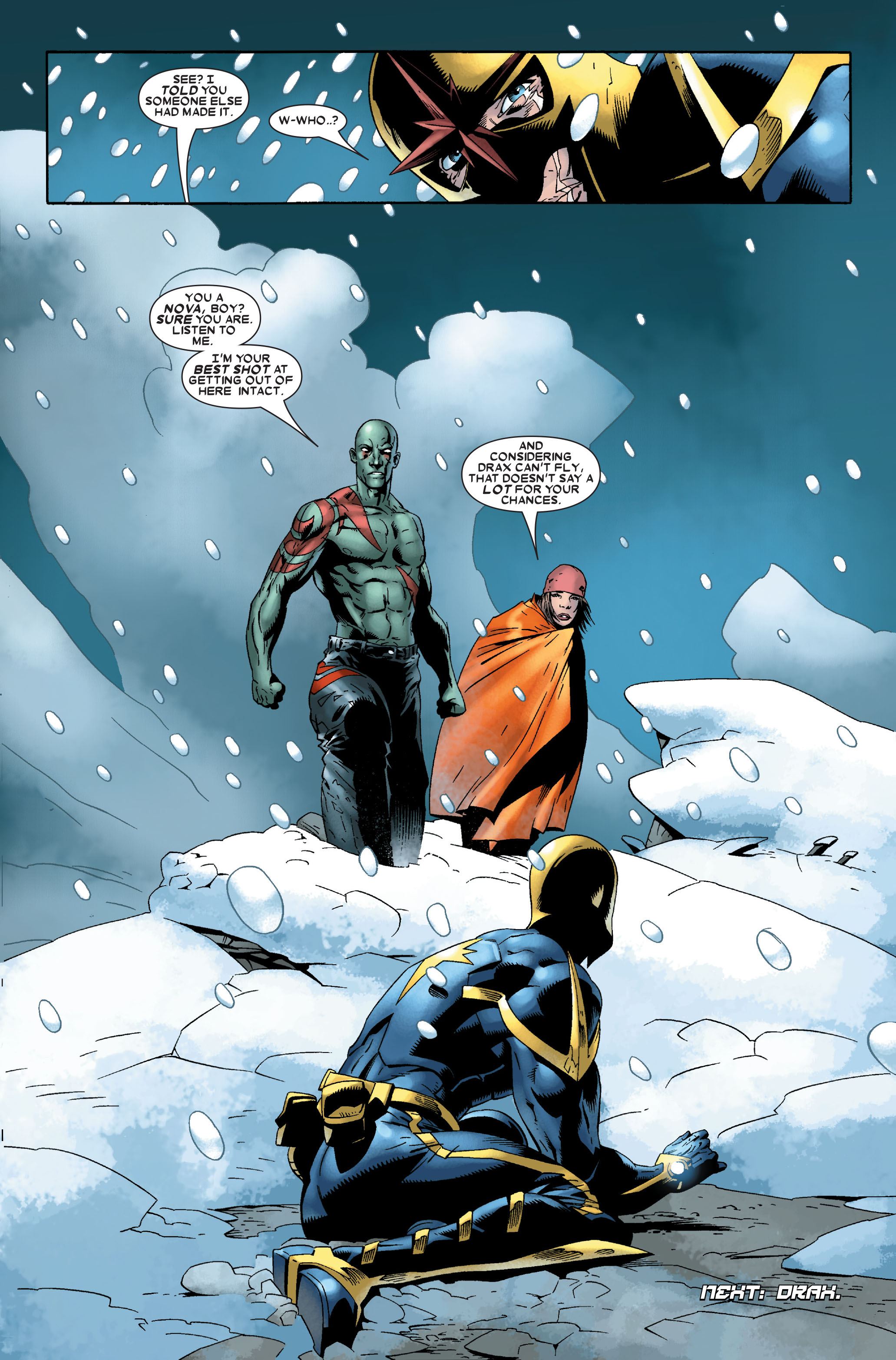 Read online Annihilation: Nova comic -  Issue #1 - 24