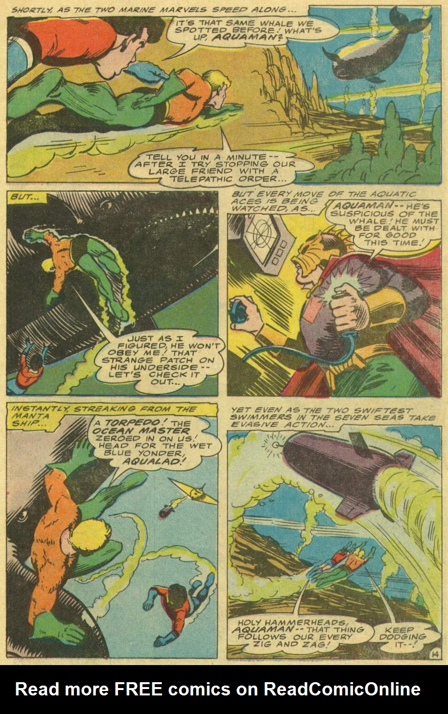 Read online Aquaman (1962) comic -  Issue #29 - 19