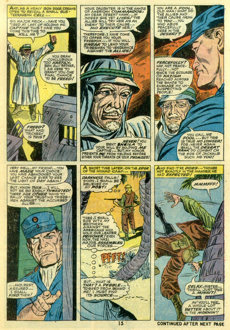 Read online Sgt. Fury comic -  Issue #107 - 17