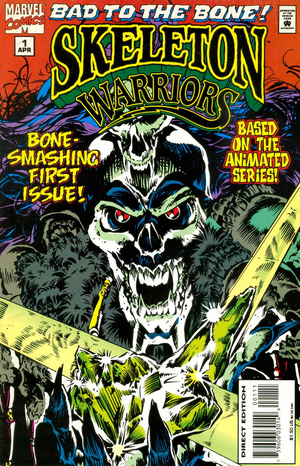 Skeleton Warriors Issue #1 #1 - English 1