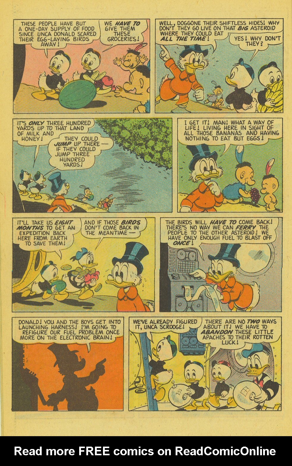 Read online Uncle Scrooge (1953) comic -  Issue #143 - 22