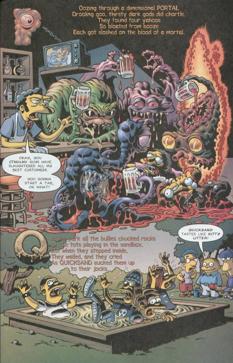 Read online Treehouse of Horror comic -  Issue #8 - 40