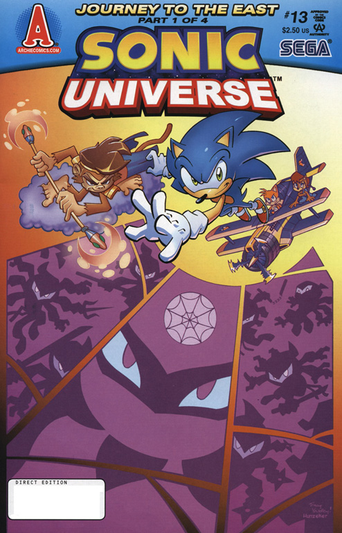 Read online Sonic Universe comic -  Issue #13 - 1