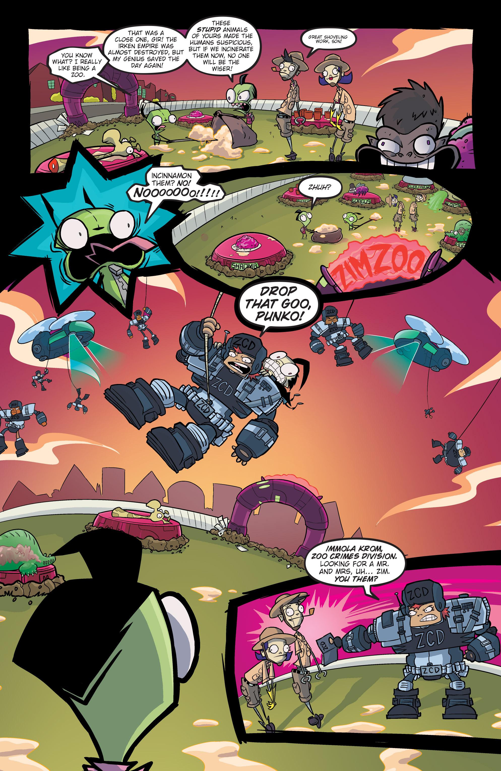 Read online Invader Zim comic -  Issue #19 - 13