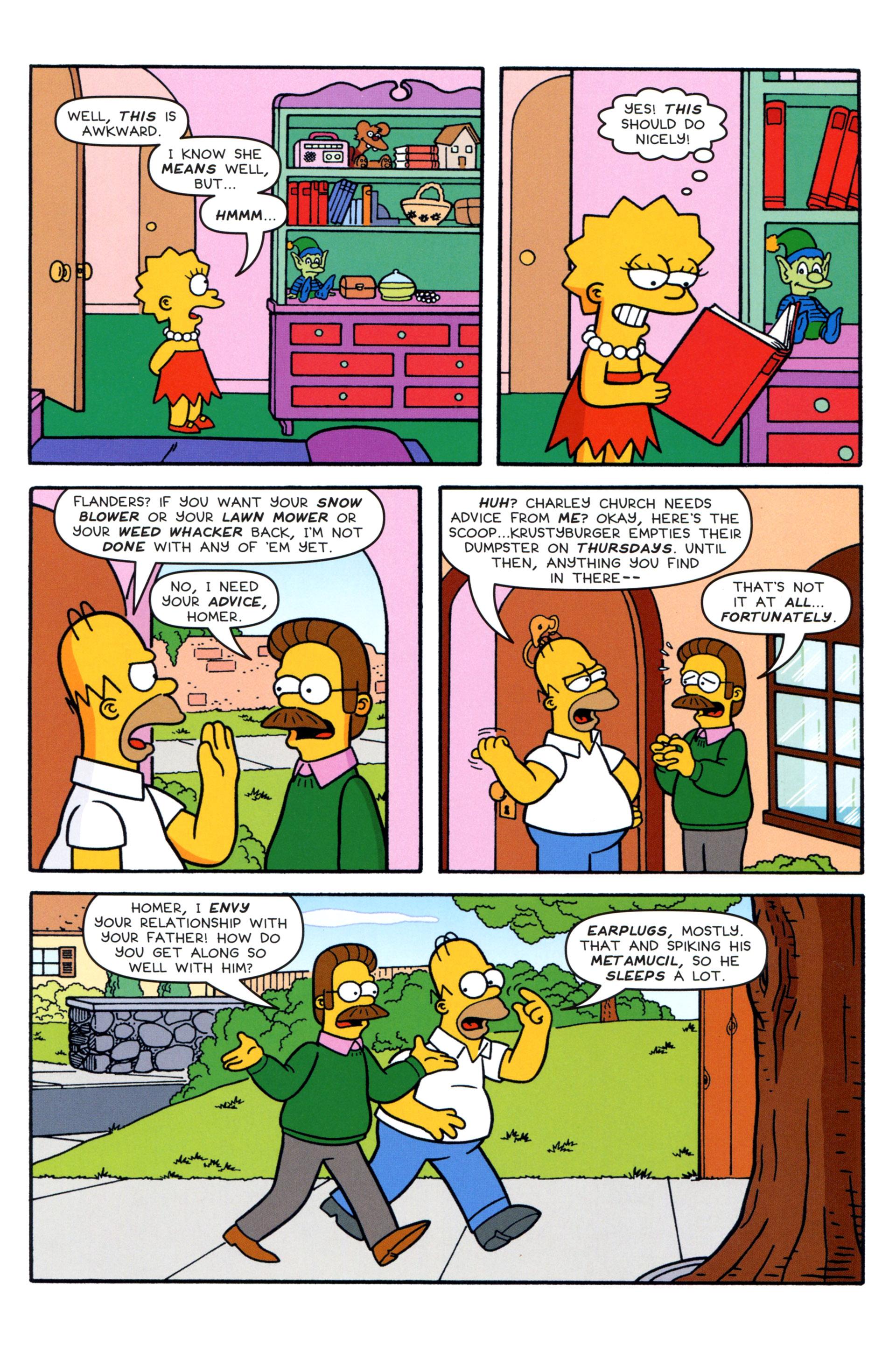 Read online Simpsons Comics comic -  Issue #204 - 13