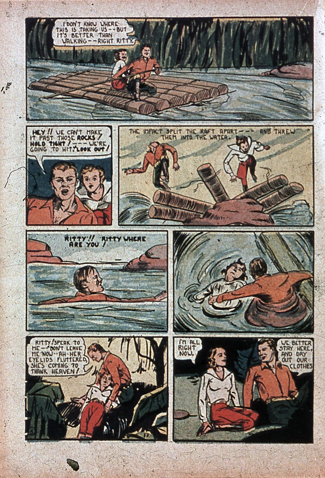 Read online Amazing Man Comics comic -  Issue #7 - 41