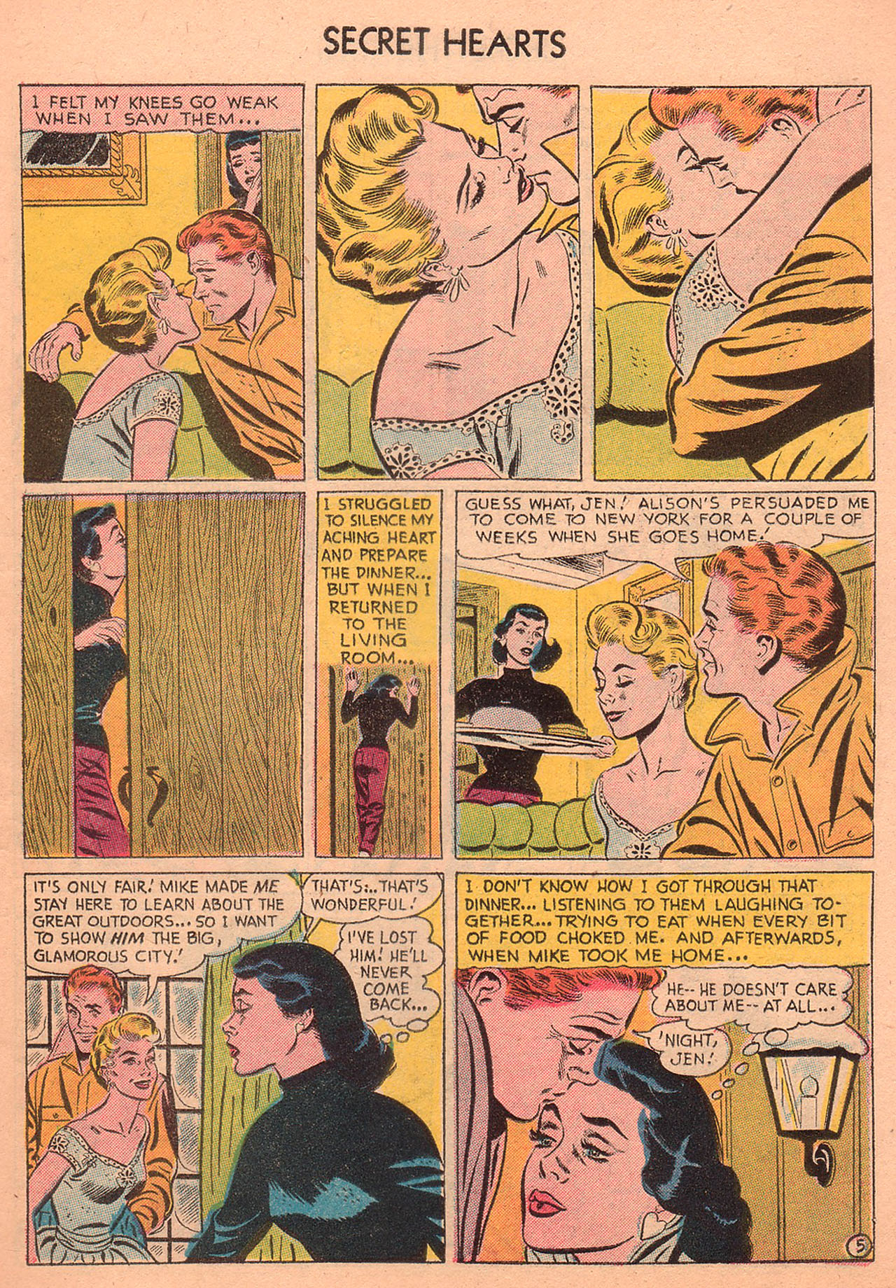 Read online Secret Hearts comic -  Issue #27 - 7