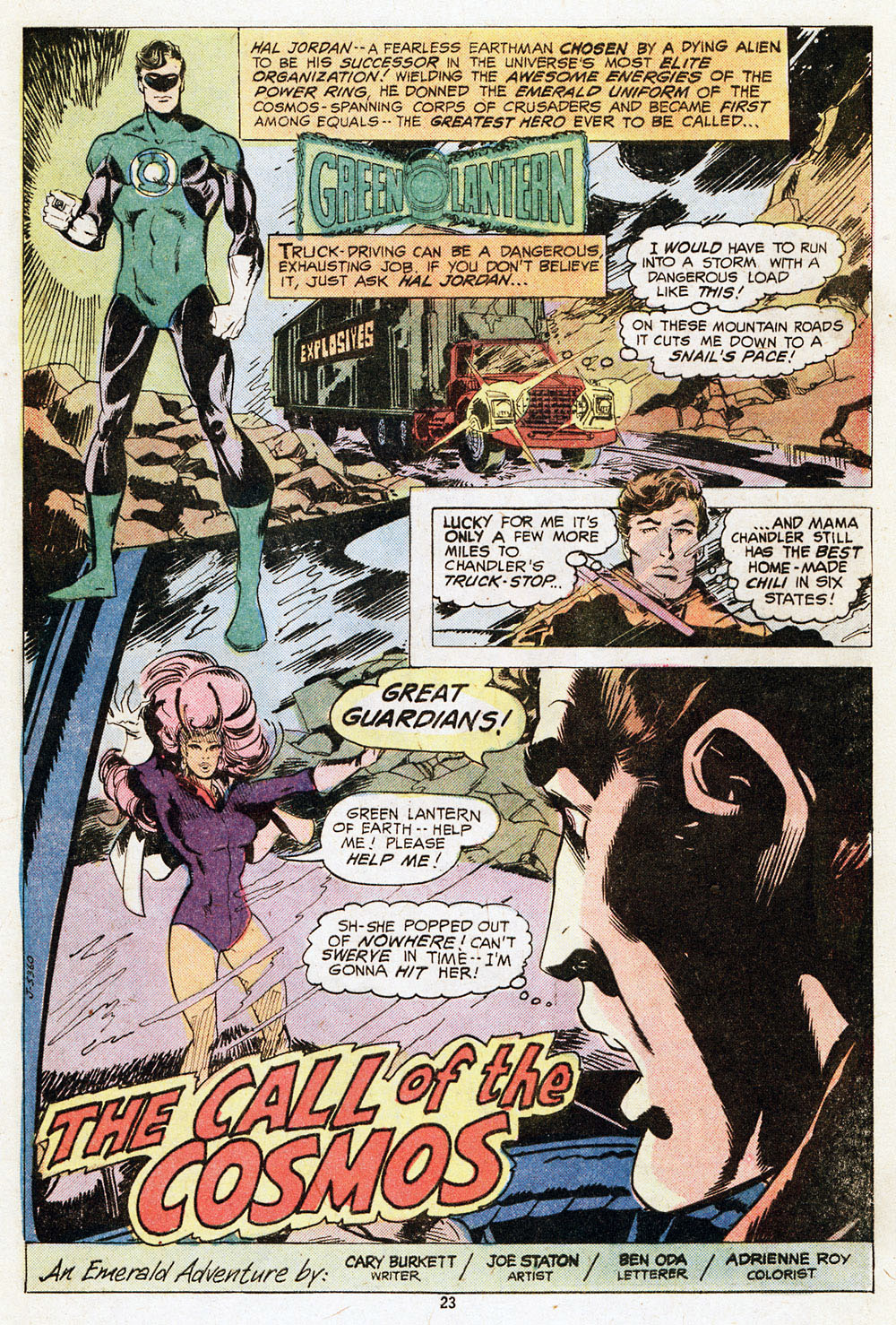 Read online Adventure Comics (1938) comic -  Issue #459 - 25