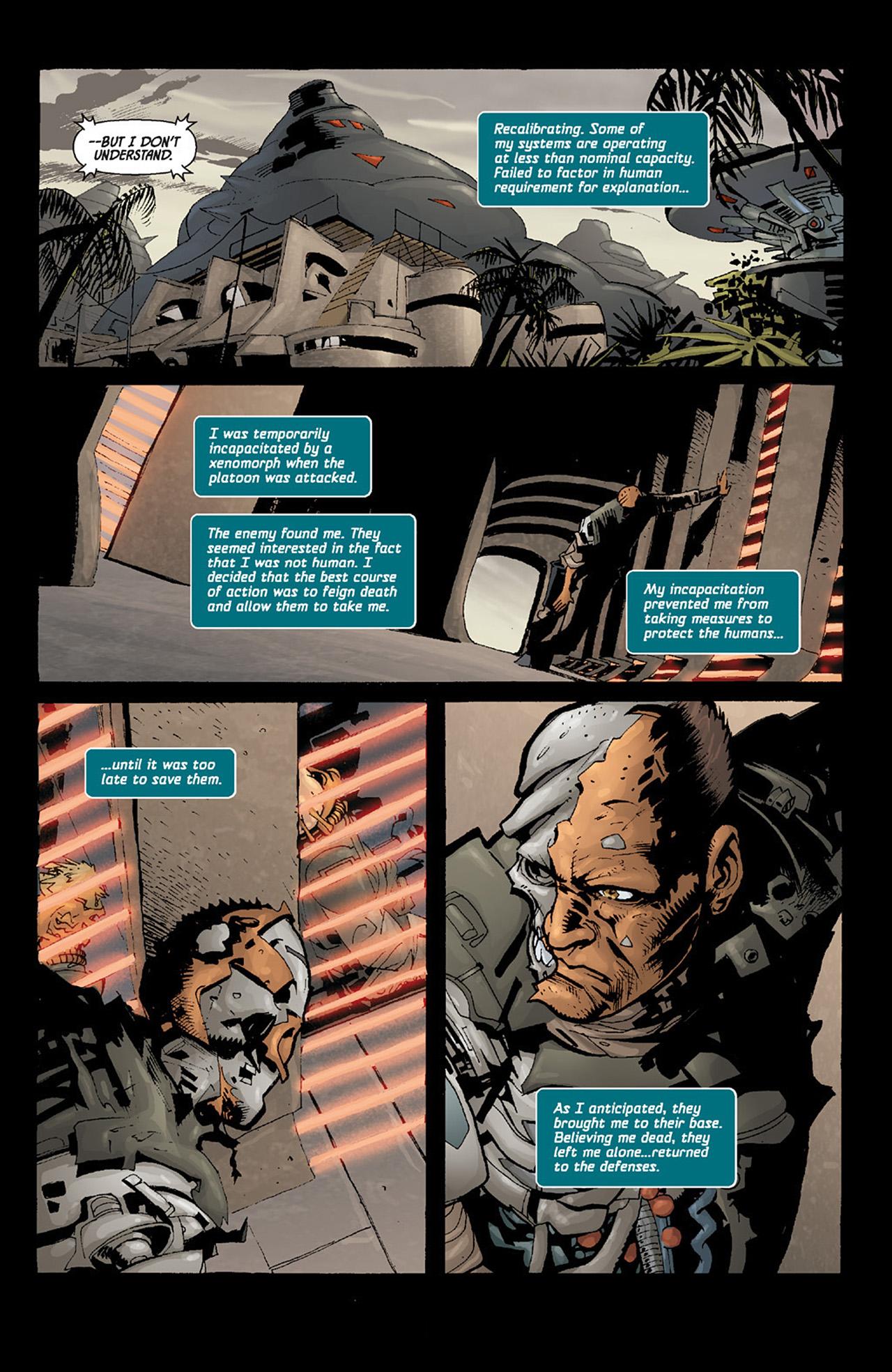 Read online Aliens vs. Predator: Three World War comic -  Issue #6 - 4