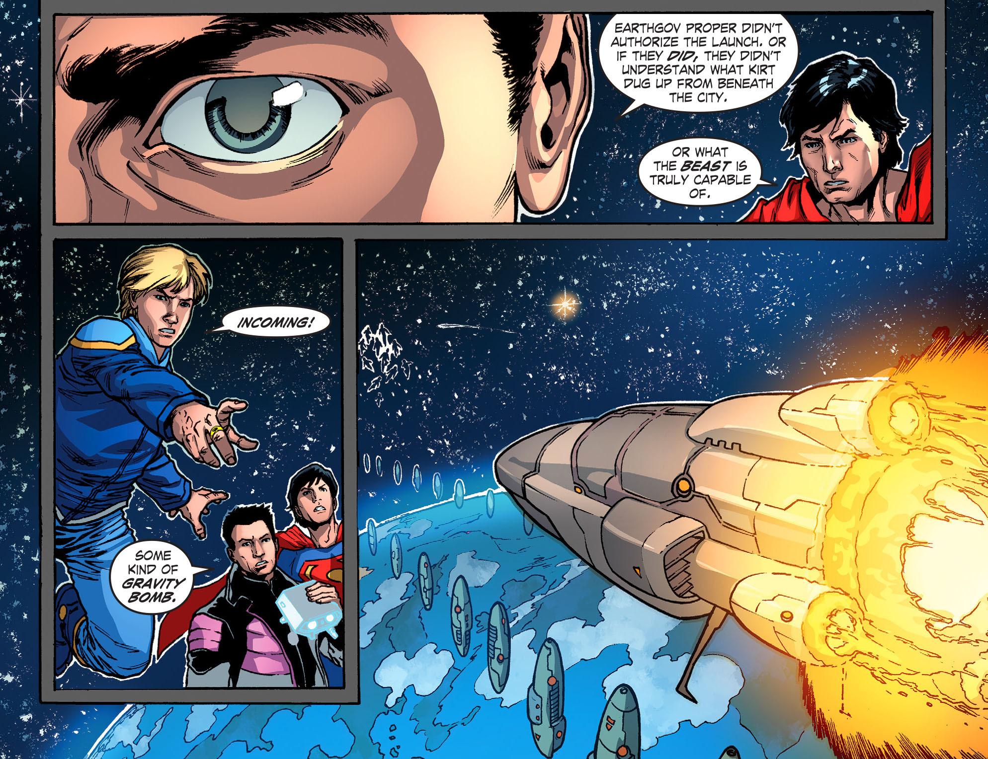 Read online Smallville: Season 11 comic -  Issue #52 - 4