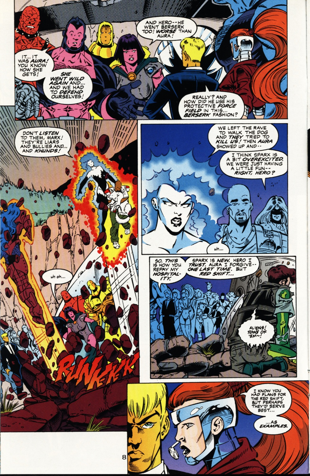 Read online Superboy & The Ravers comic -  Issue #3 - 9
