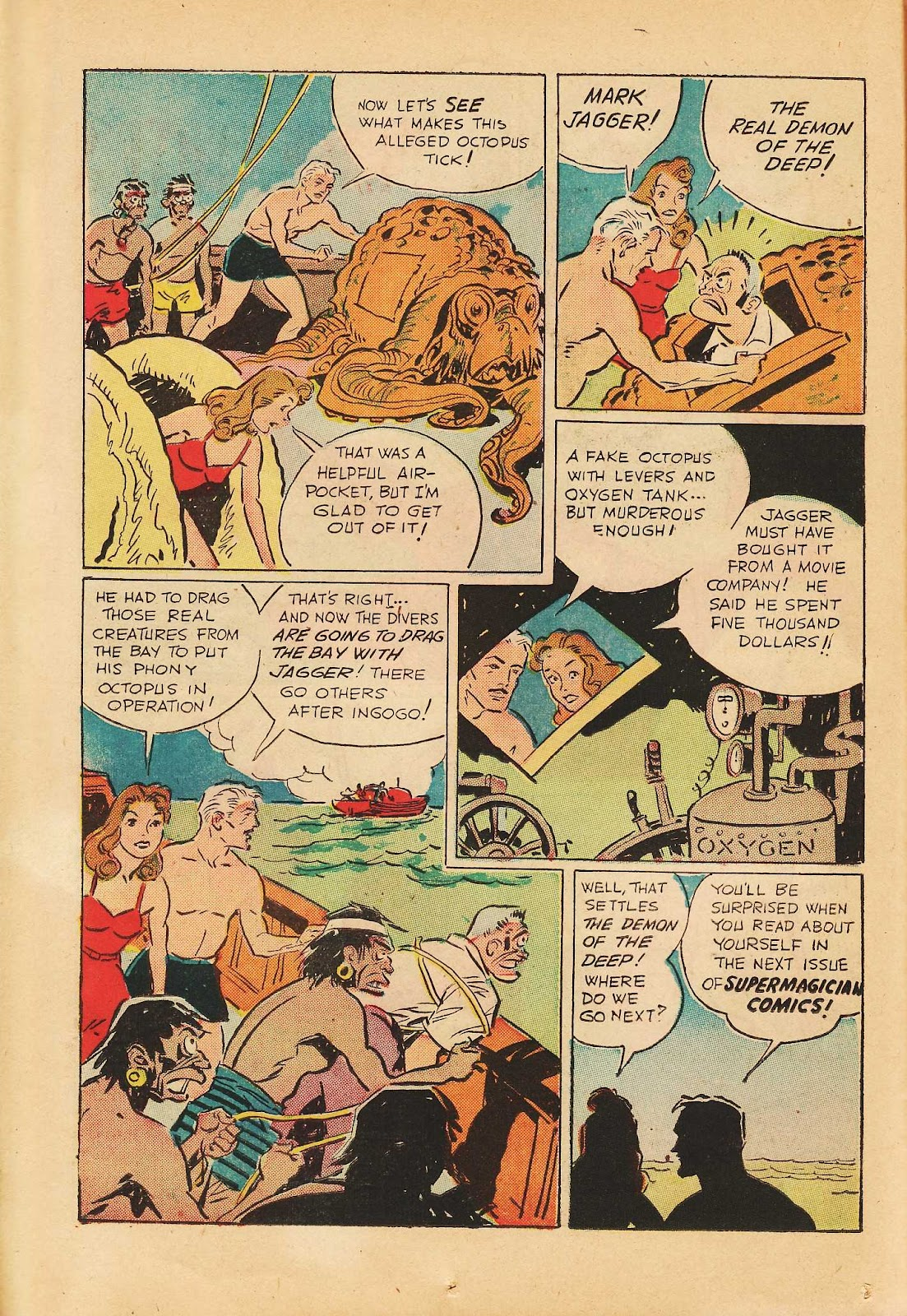 Super-Magician Comics issue 22 - Page 26