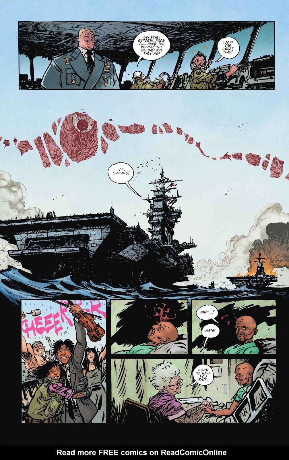 Read online Murder Falcon comic -  Issue #8 - 21