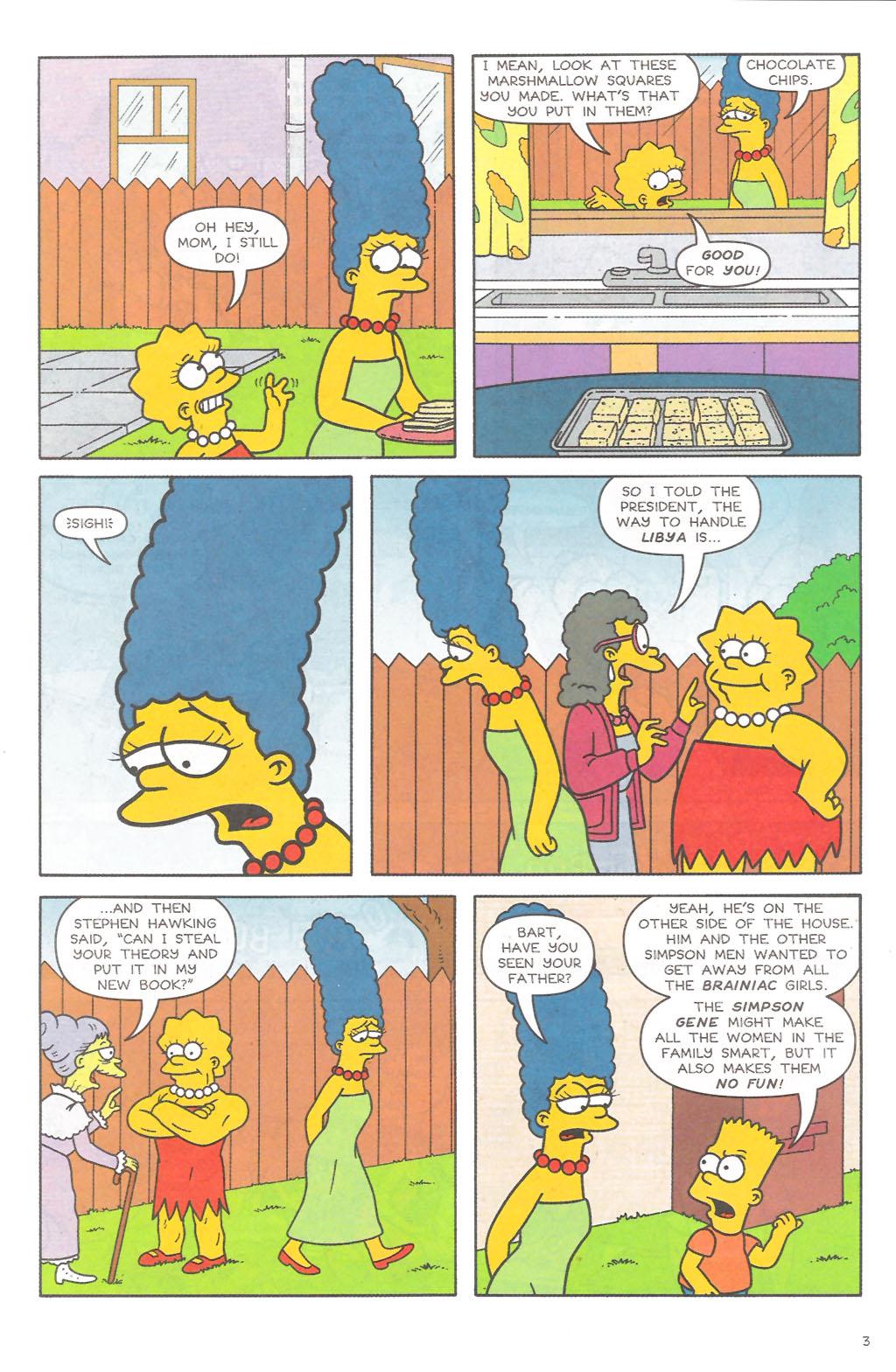 Read online Simpsons Comics comic -  Issue #111 - 4