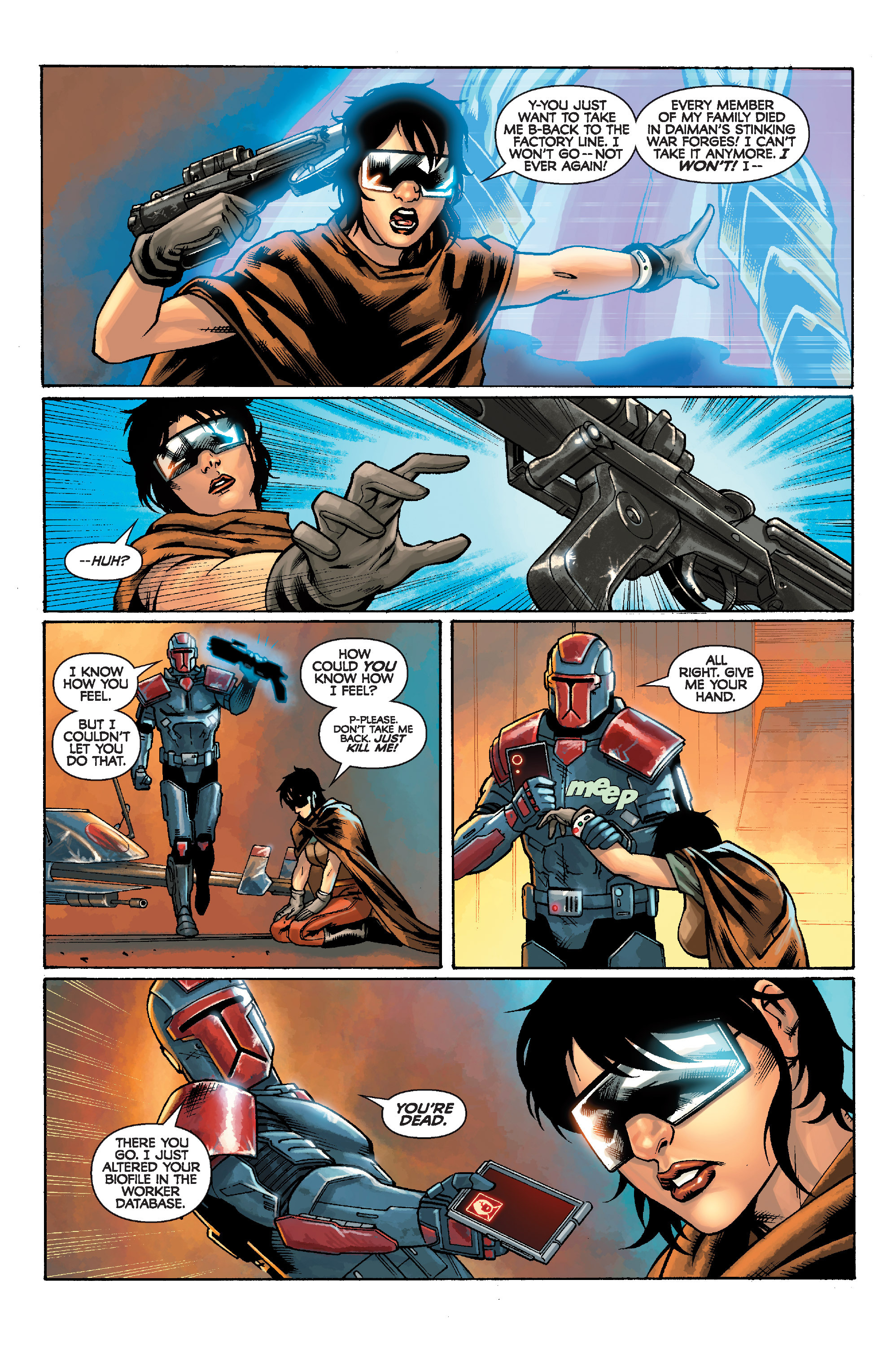 Read online Star Wars: Knight Errant - Escape comic -  Issue #1 - 6