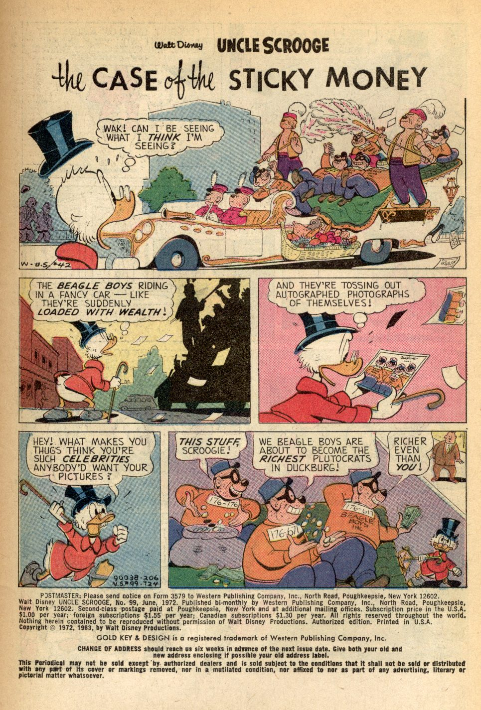 Read online Uncle Scrooge (1953) comic -  Issue #99 - 3