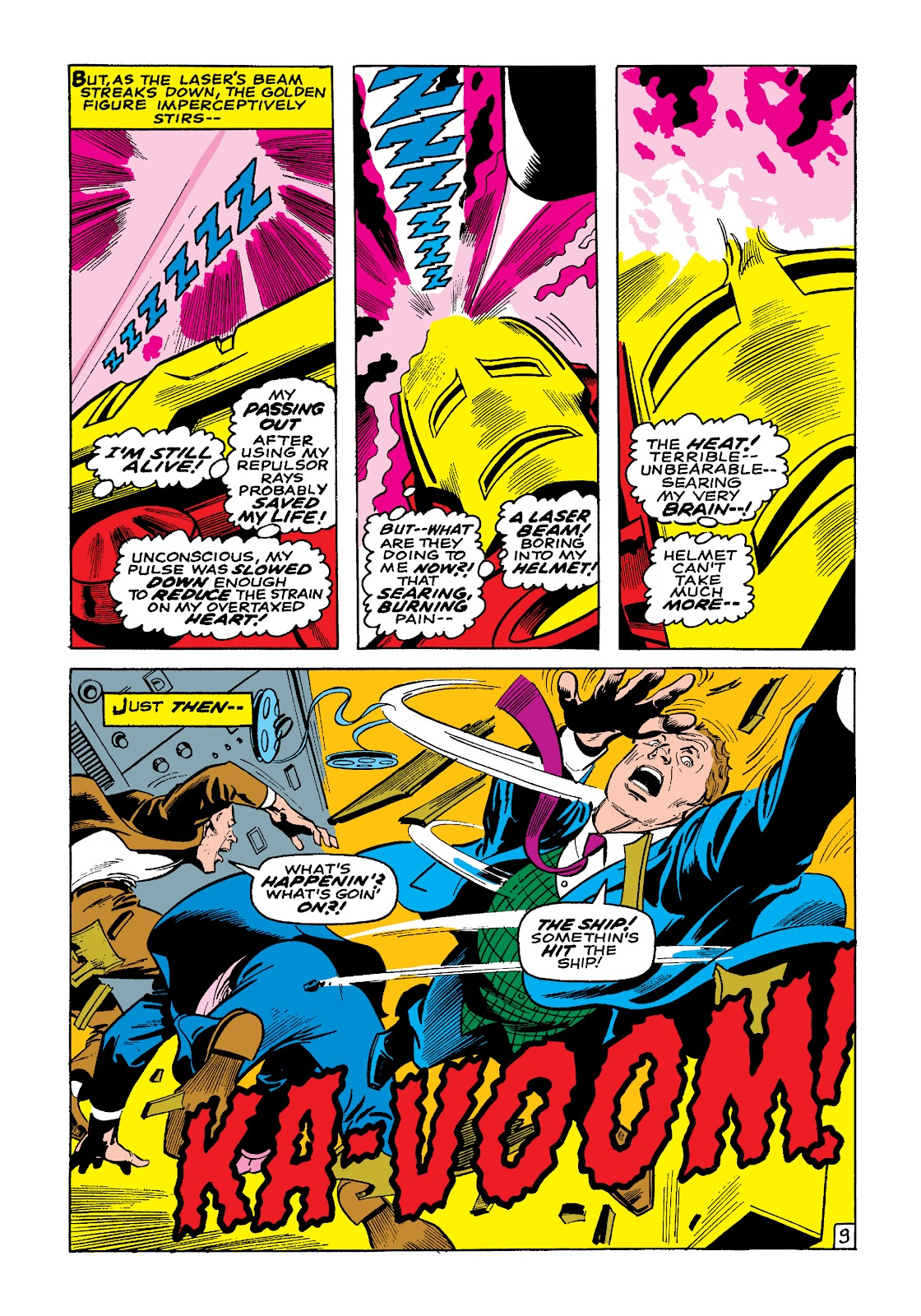 Read online Marvel Masterworks: The Invincible Iron Man comic -  Issue # TPB 4 (Part 3) - 9