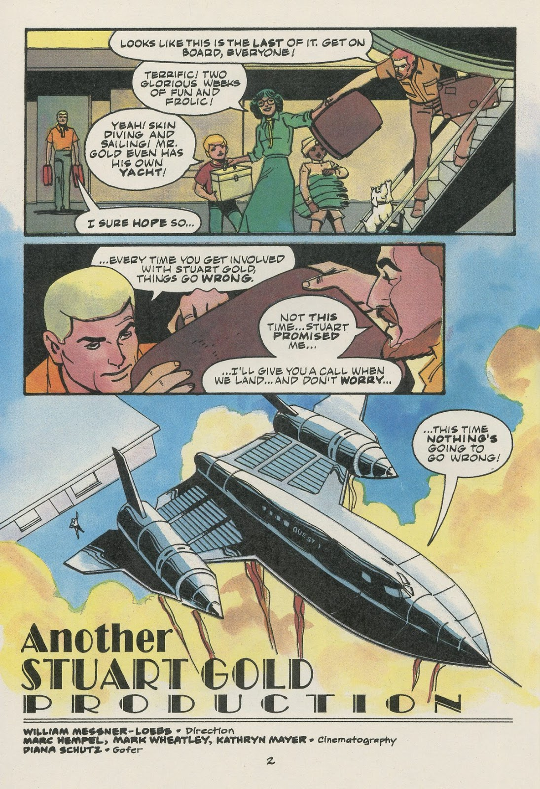 Jonny Quest (1986) issue 17 - Page 4