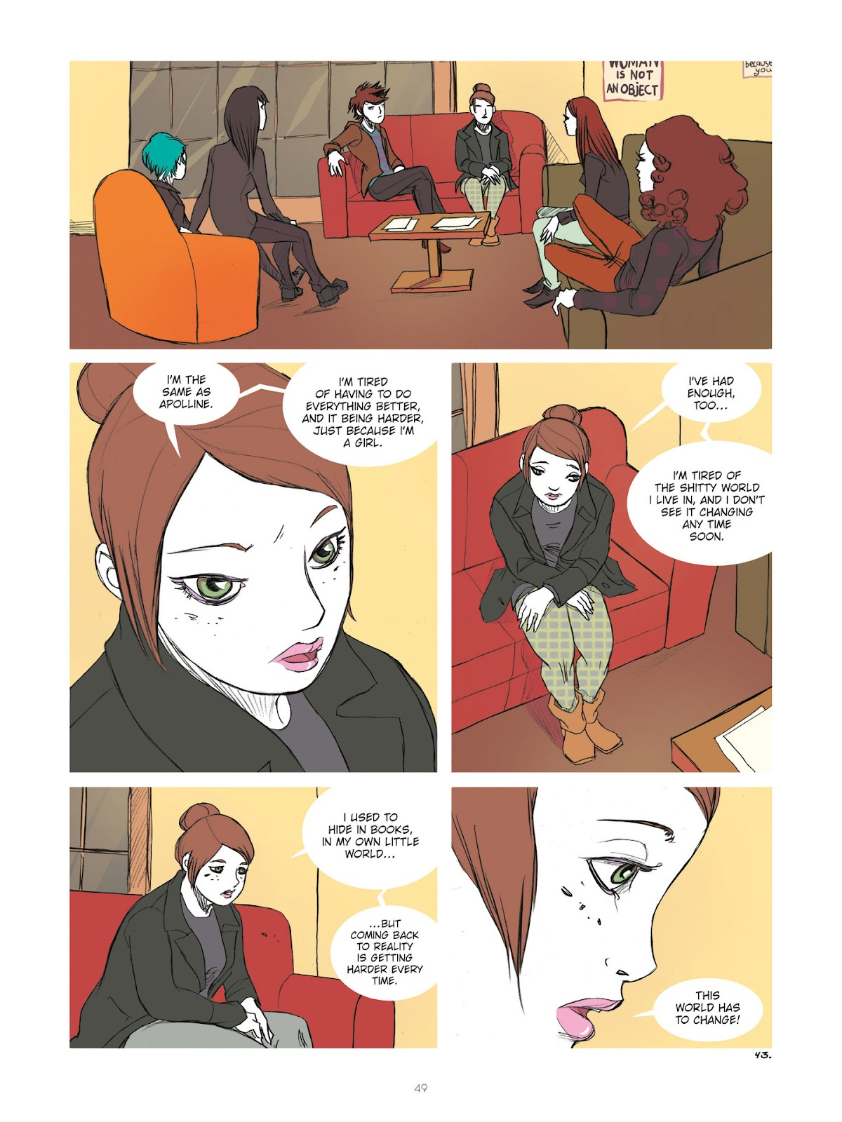 Read online Diary of A Femen comic -  Issue # TPB - 51