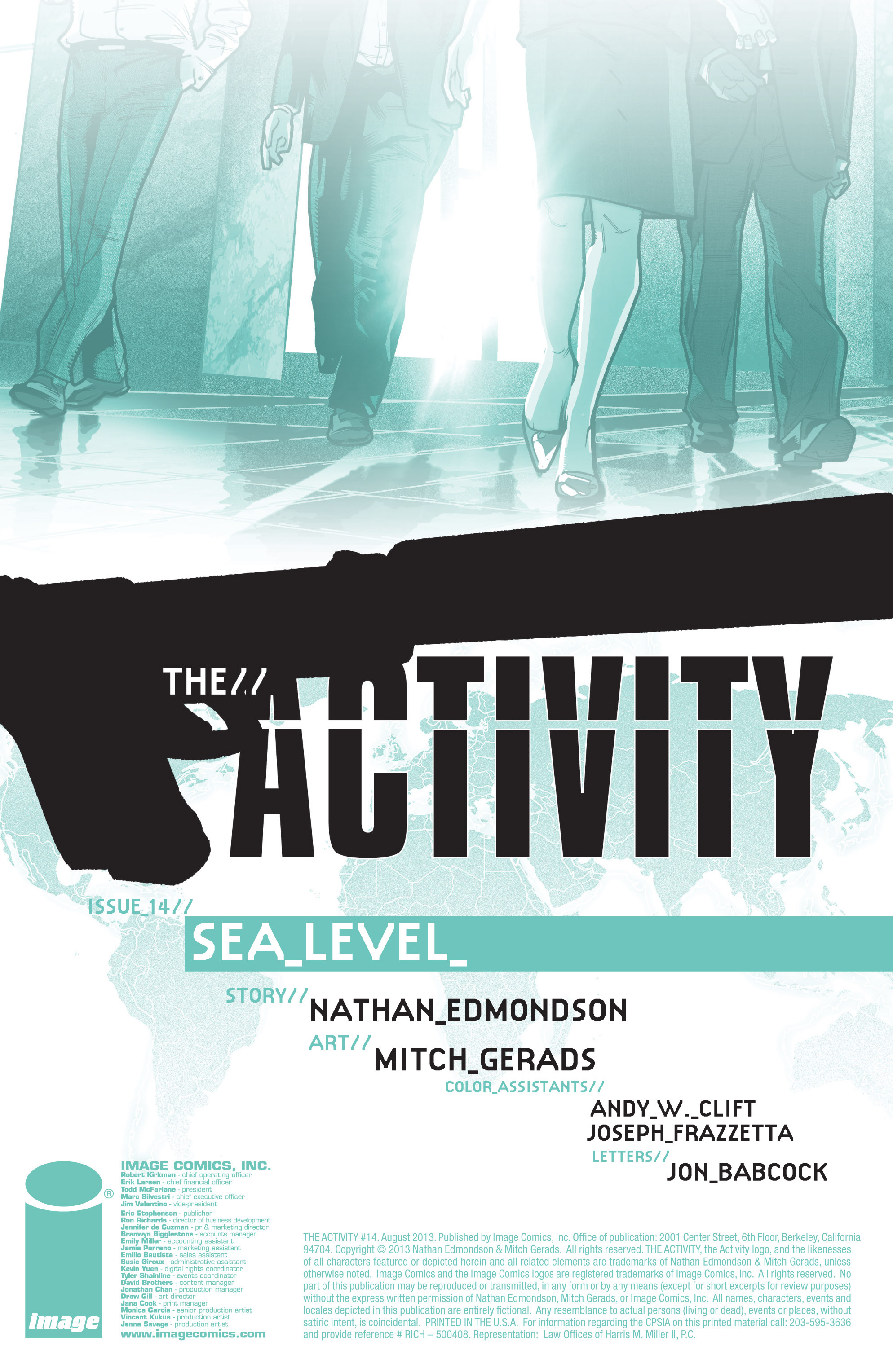 Read online The Activity comic -  Issue #14 - 2