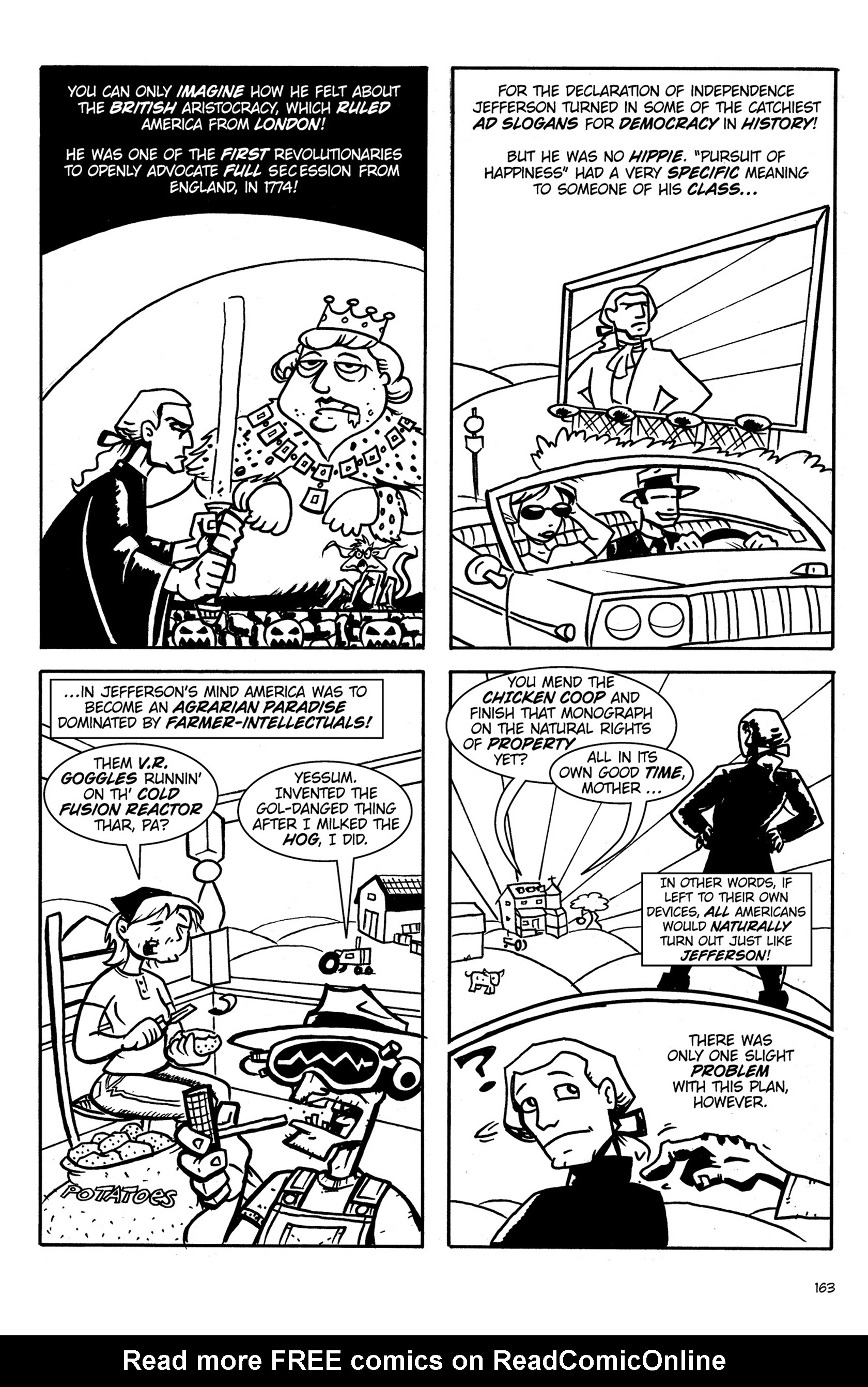 Read online Action Philosophers! comic -  Issue #Action Philosophers! TPB (Part 1) - 161