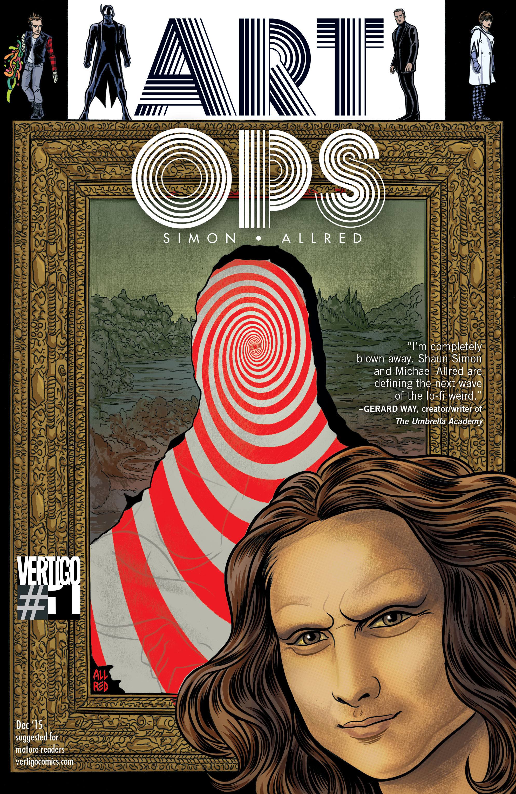 Read online Art Ops comic -  Issue #1 - 1