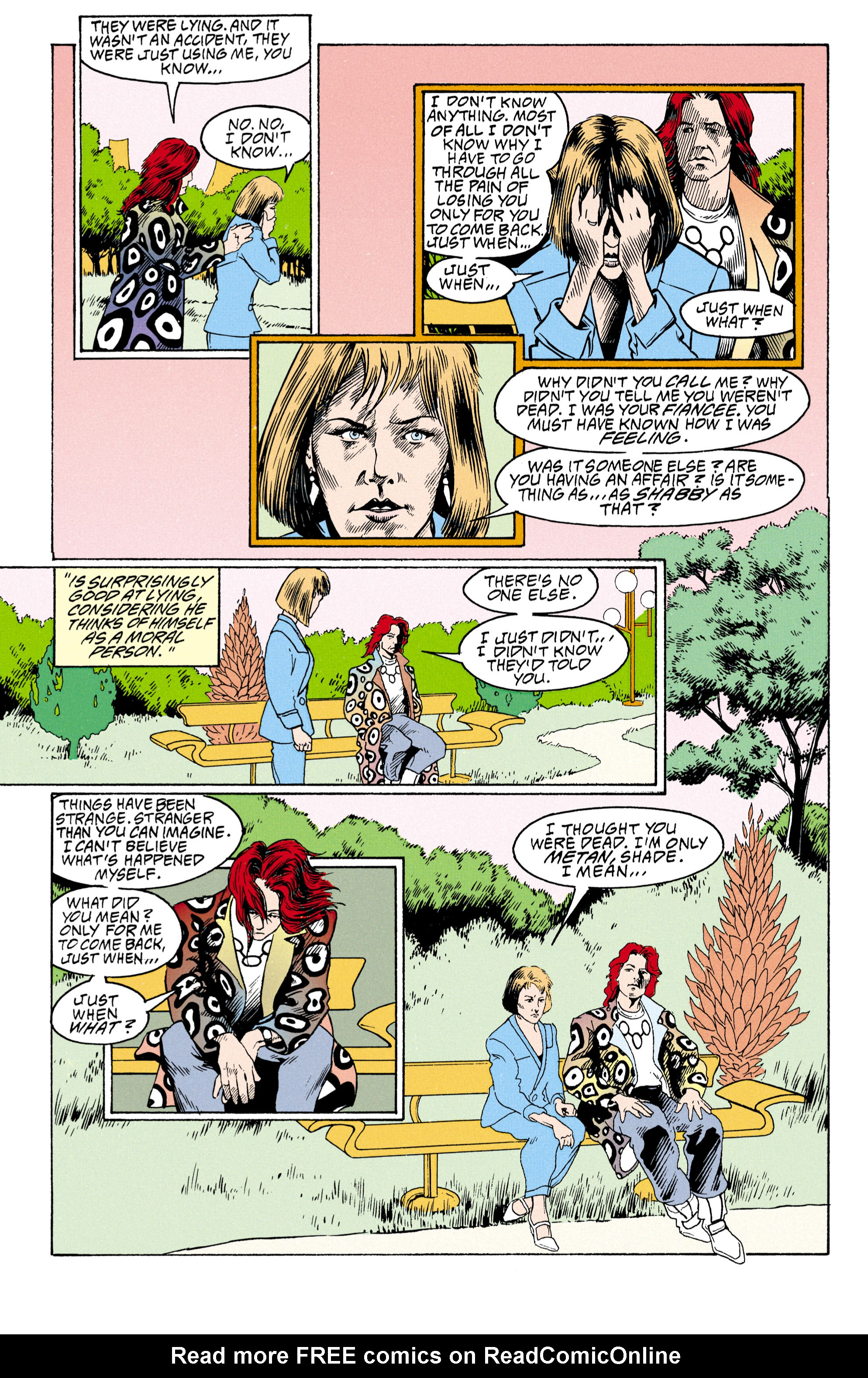 Read online Shade, the Changing Man comic -  Issue #30 - 11