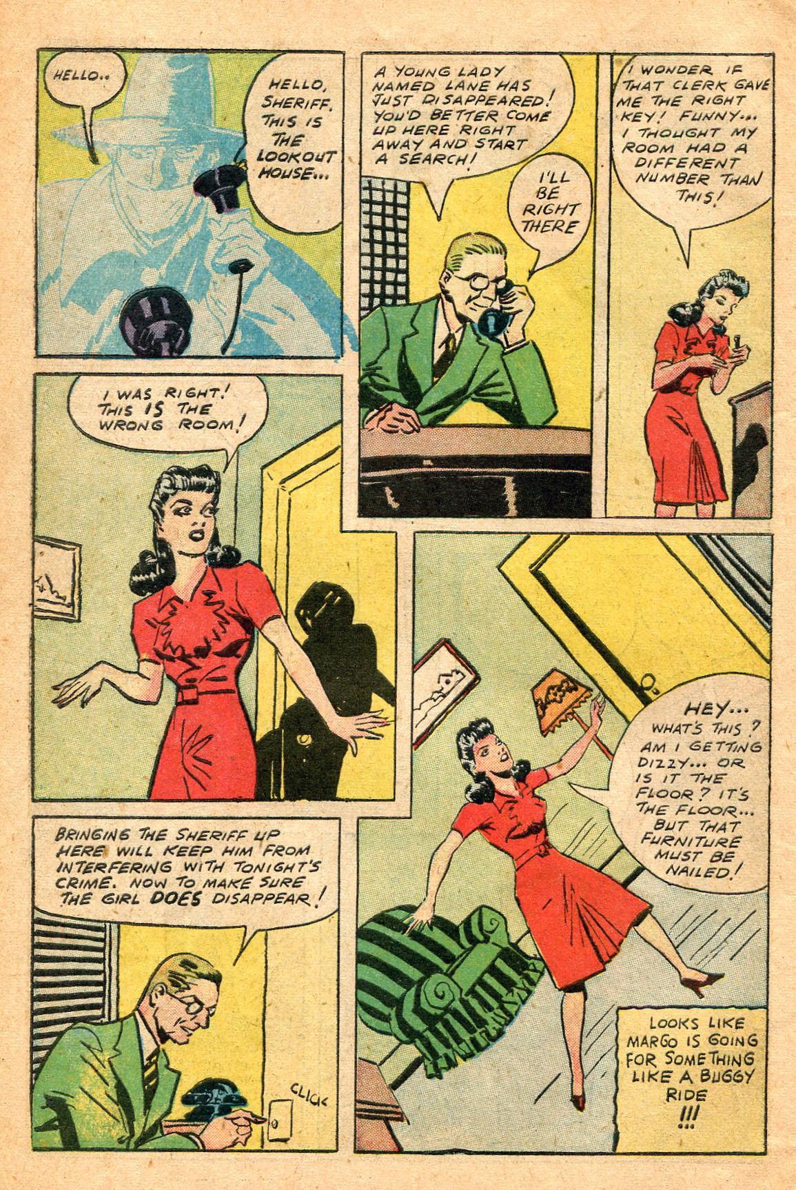 Read online Shadow Comics comic -  Issue #60 - 10