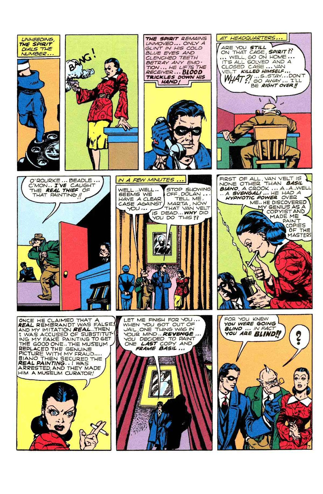 Read online Will Eisner's The Spirit Archives comic -  Issue # TPB 2 (Part 2) - 59