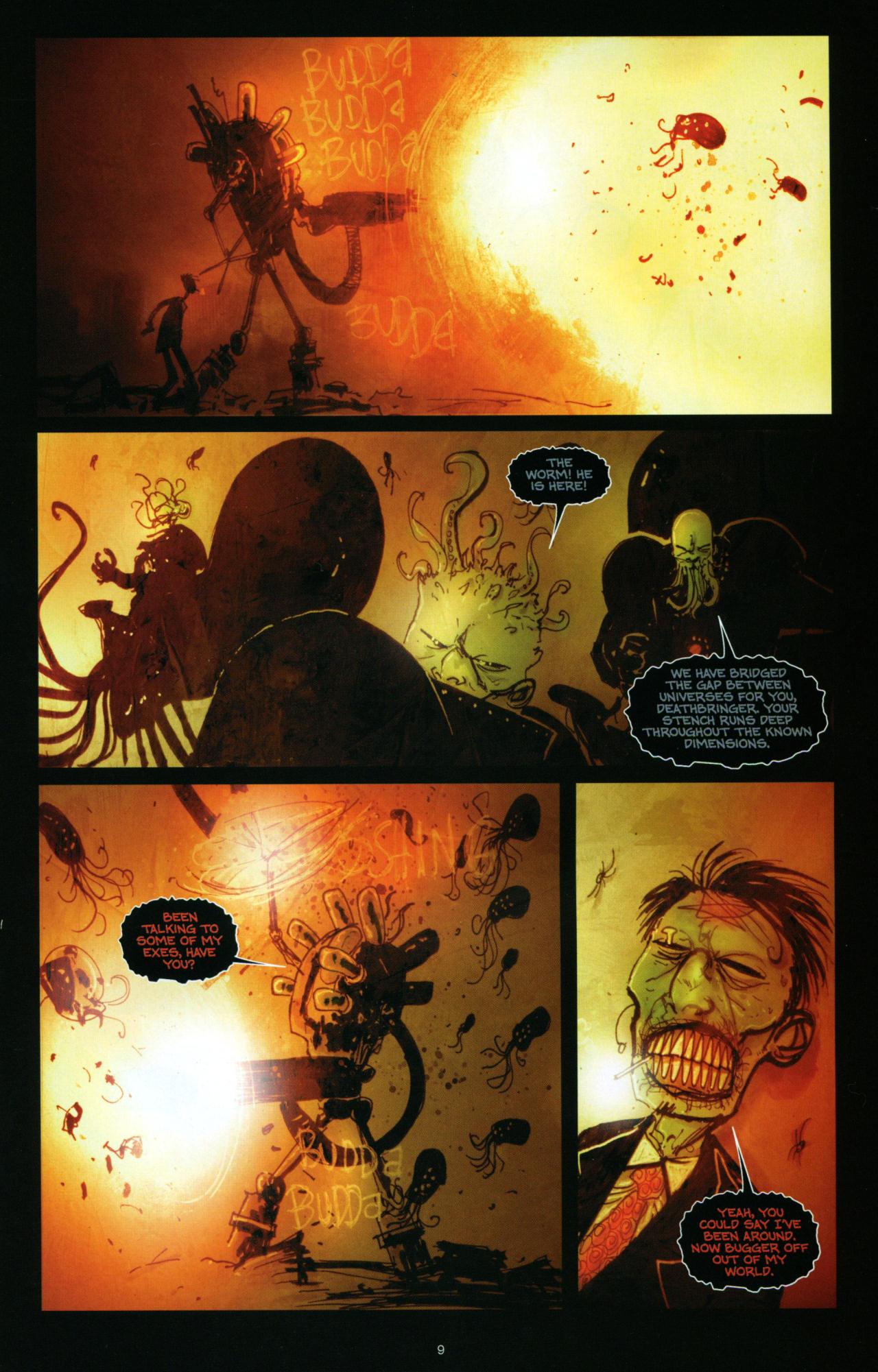 Read online Wormwood: Gentleman Corpse comic -  Issue #10 - 10