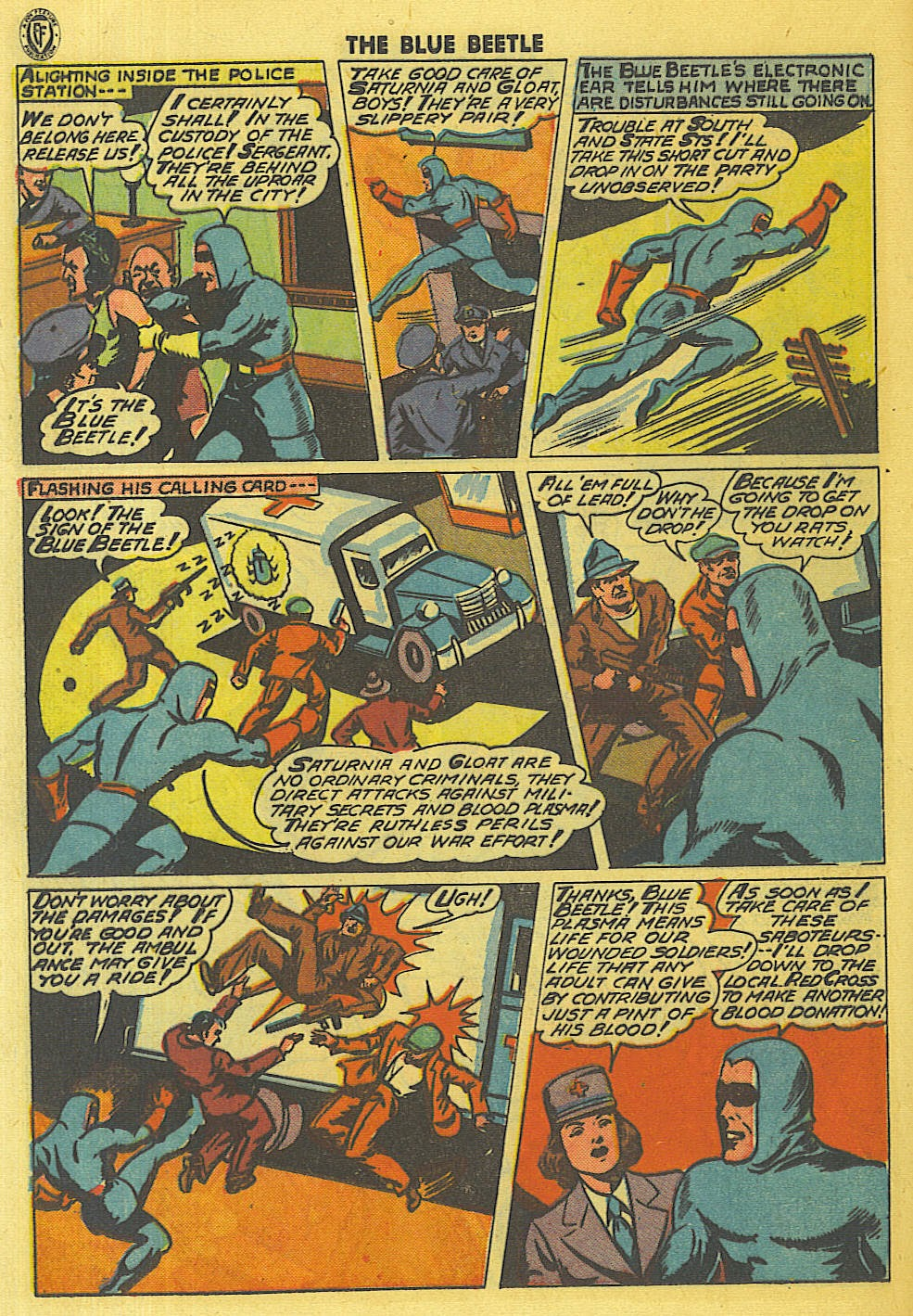 The Blue Beetle issue 35 - Page 19