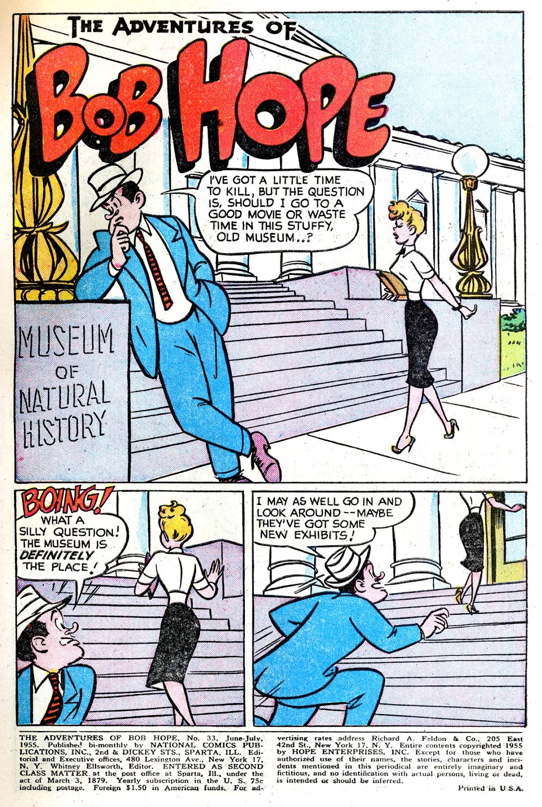 The Adventures of Bob Hope issue 33 - Page 3