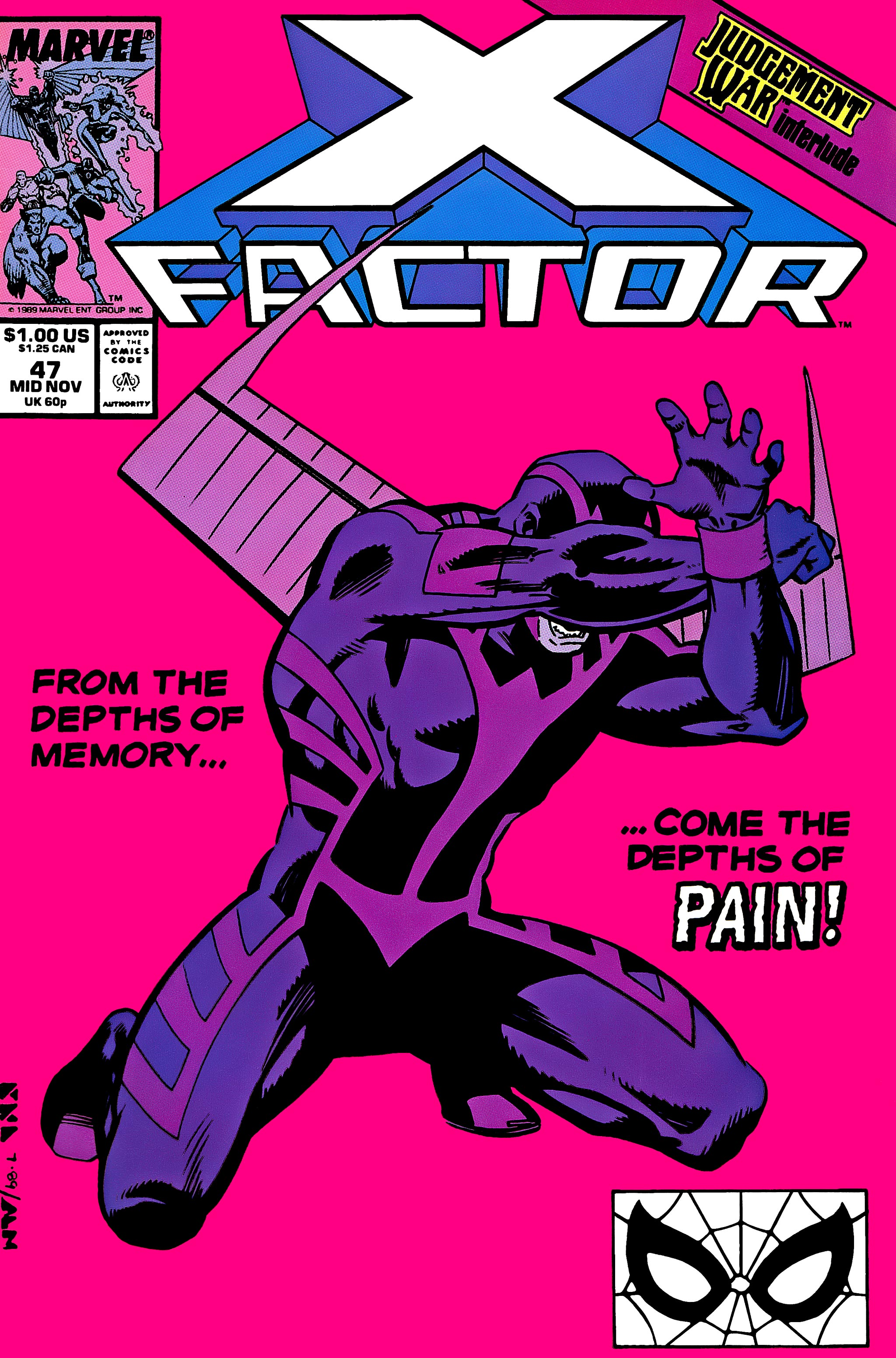 Read online X-Factor (1986) comic -  Issue #47 - 1