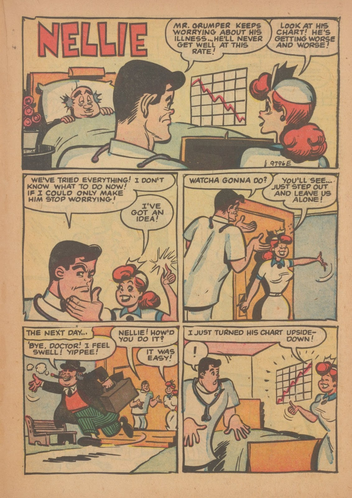 Read online Nellie The Nurse (1945) comic -  Issue #34 - 19