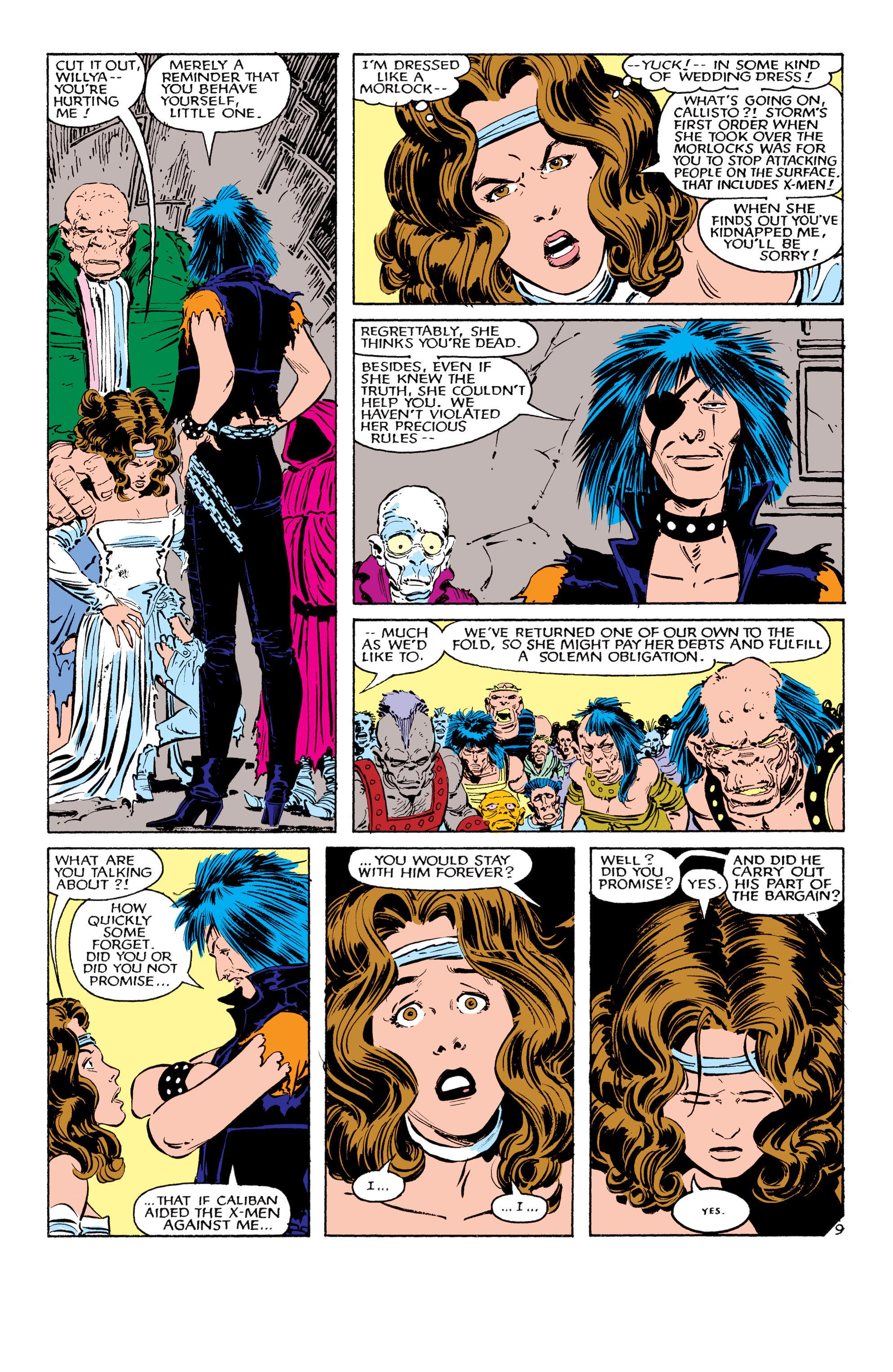 Read online Uncanny X-Men (1963) comic -  Issue #179 - 10